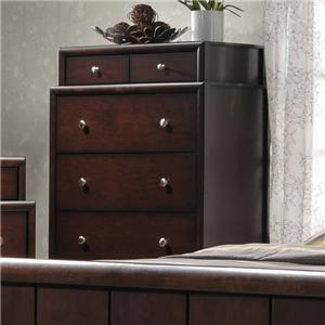 Crown Mark Rivoli Chest of Drawers