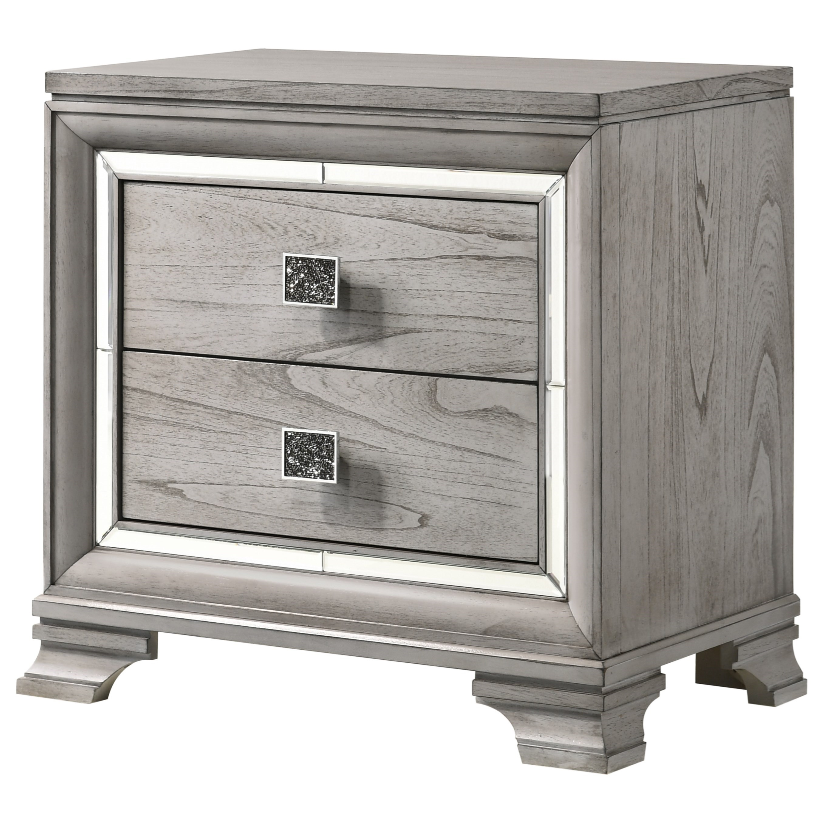 Vail Nightstand by Crown Mark at Northeast Factory Direct