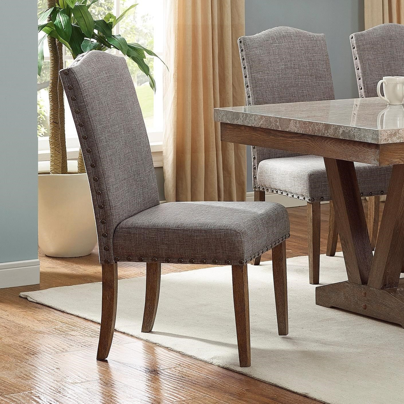 Vesper Dining Side Chair by Crown Mark at Northeast Factory Direct