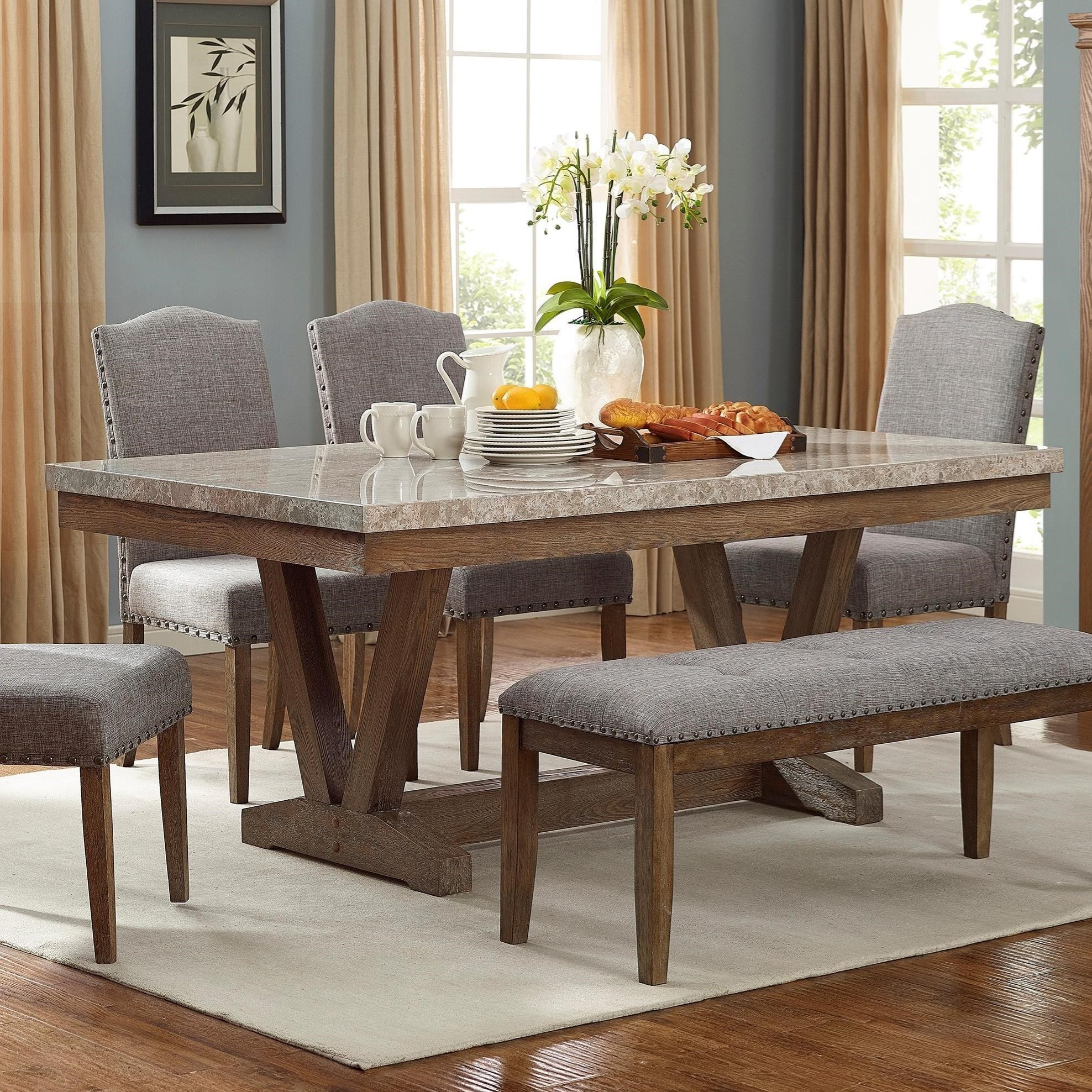 Vesper Dining Dining Table by Crown Mark at Catalog Outlet