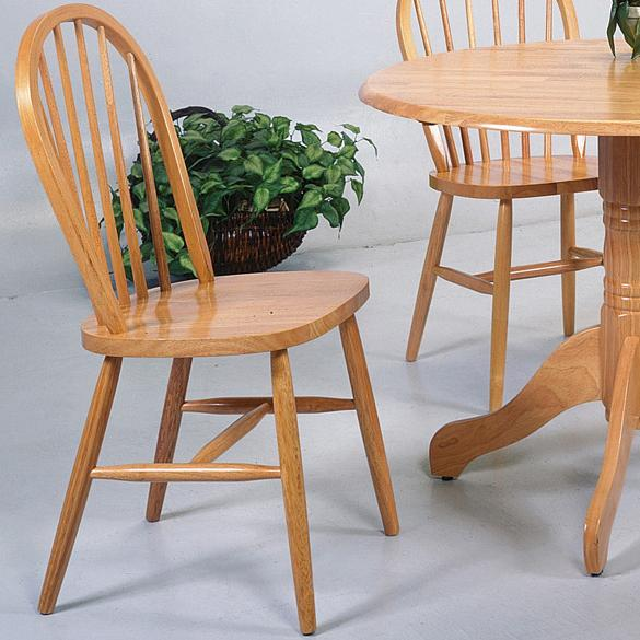 Windsor Solid Dining Side Chair by Crown Mark at Northeast Factory Direct