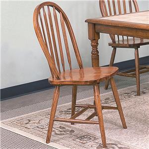 Dark Oak Dining Side Chair