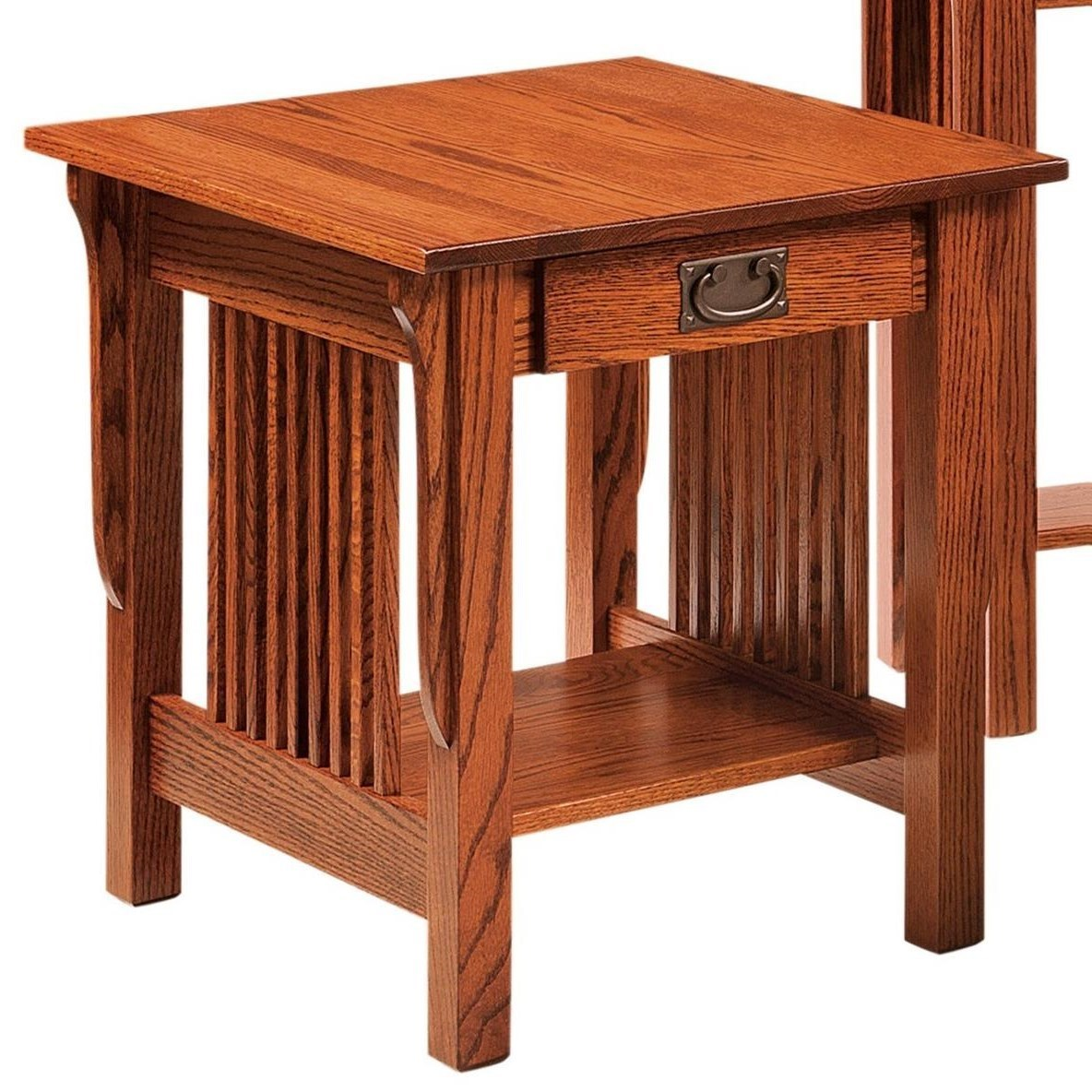 Leah End Table by Crystal Valley Hardwoods at Saugerties Furniture Mart