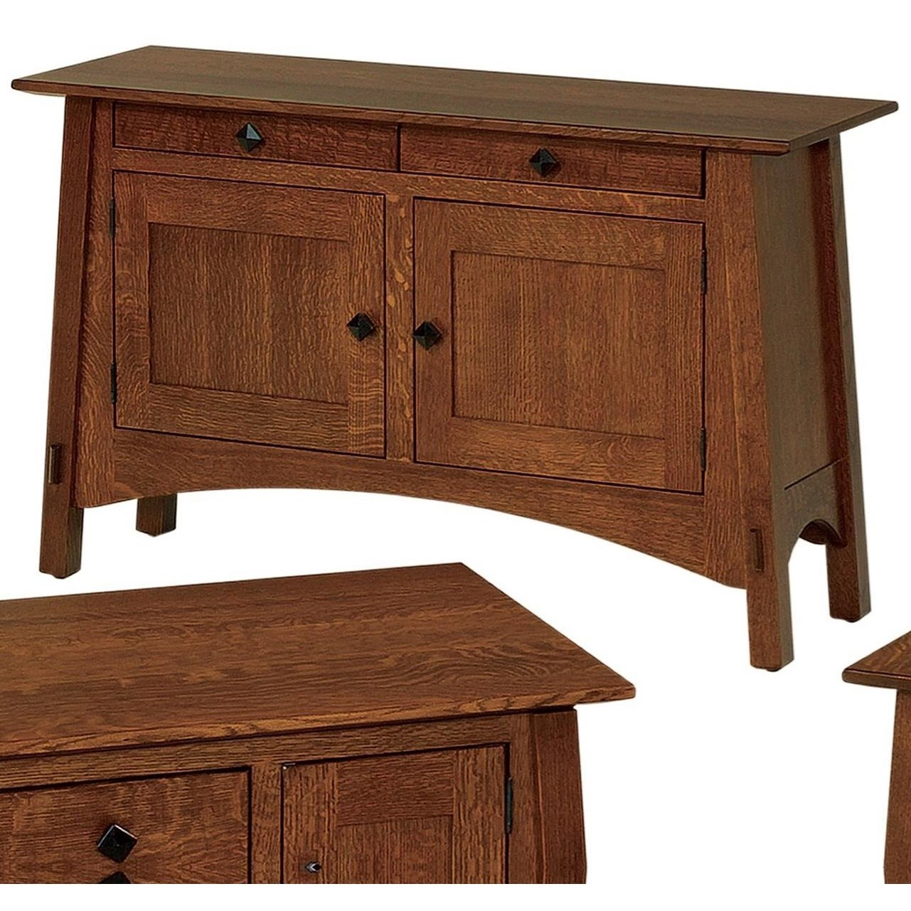 McCoy Sofa Table by Crystal Valley Hardwoods at Saugerties Furniture Mart