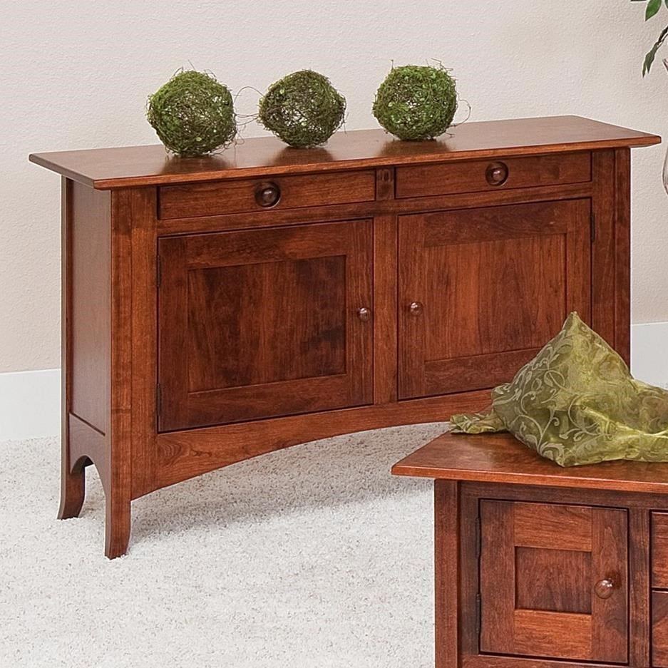 Shaker Hill Sofa Table by Crystal Valley Hardwoods at Saugerties Furniture Mart