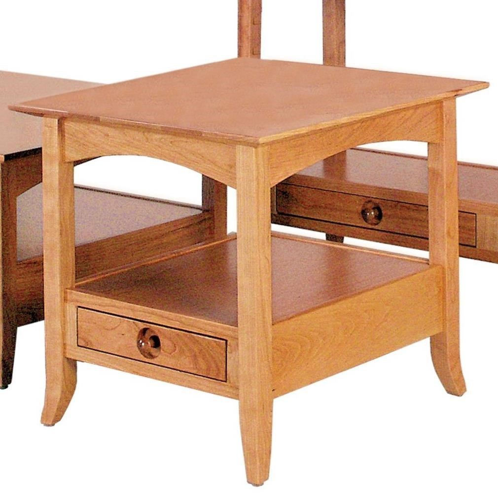Shaker Hill End Table by Crystal Valley Hardwoods at Saugerties Furniture Mart
