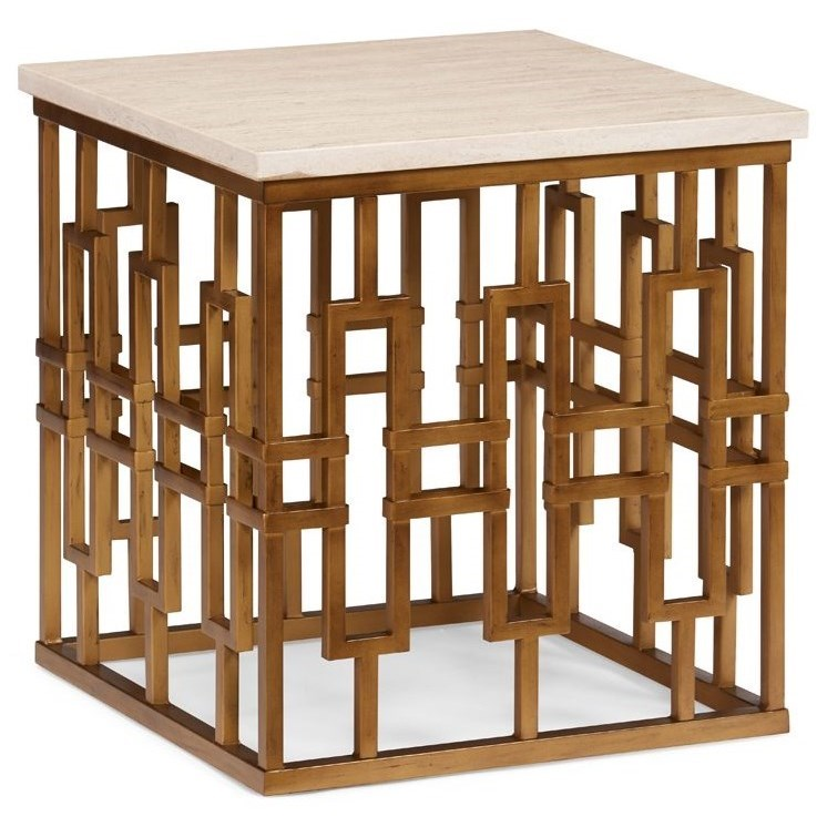 Chicklet End Table by CTH Sherrill Occasional at Baer's Furniture