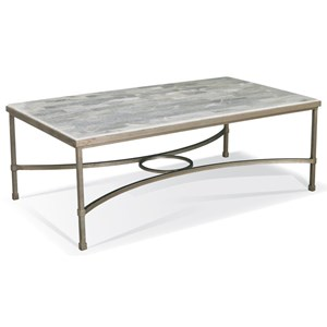 Cocktail Table with Onyx Stone Top