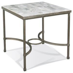 End Table with Onyx Stone Top