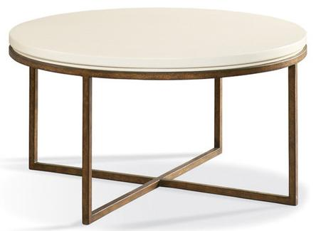 Metro Classics Round Cocktail Table by CTH Sherrill Occasional at Baer's Furniture