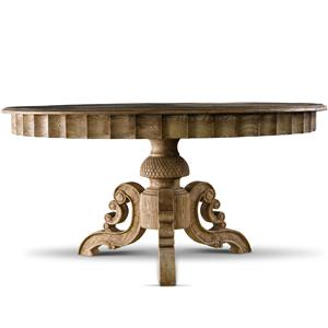 """55"""" French Round Table"""