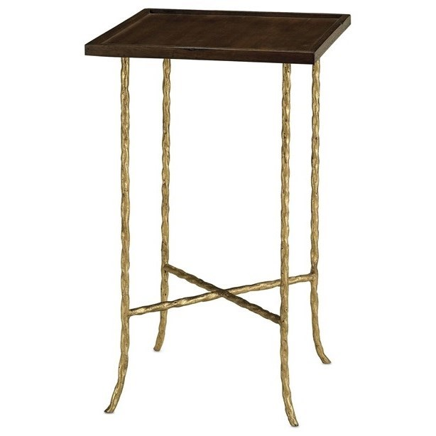 Accent Tables Accent Table by Currey & Co at Sprintz Furniture