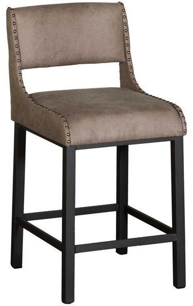 Trendy  SHELVY COUNTER HEIGHT STOOL at Walker's Furniture