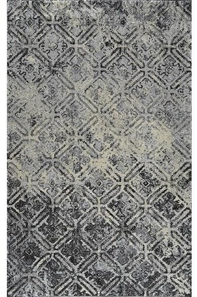 AERO CHARCOAL 7.10X10.7 RUG at Walker's Furniture