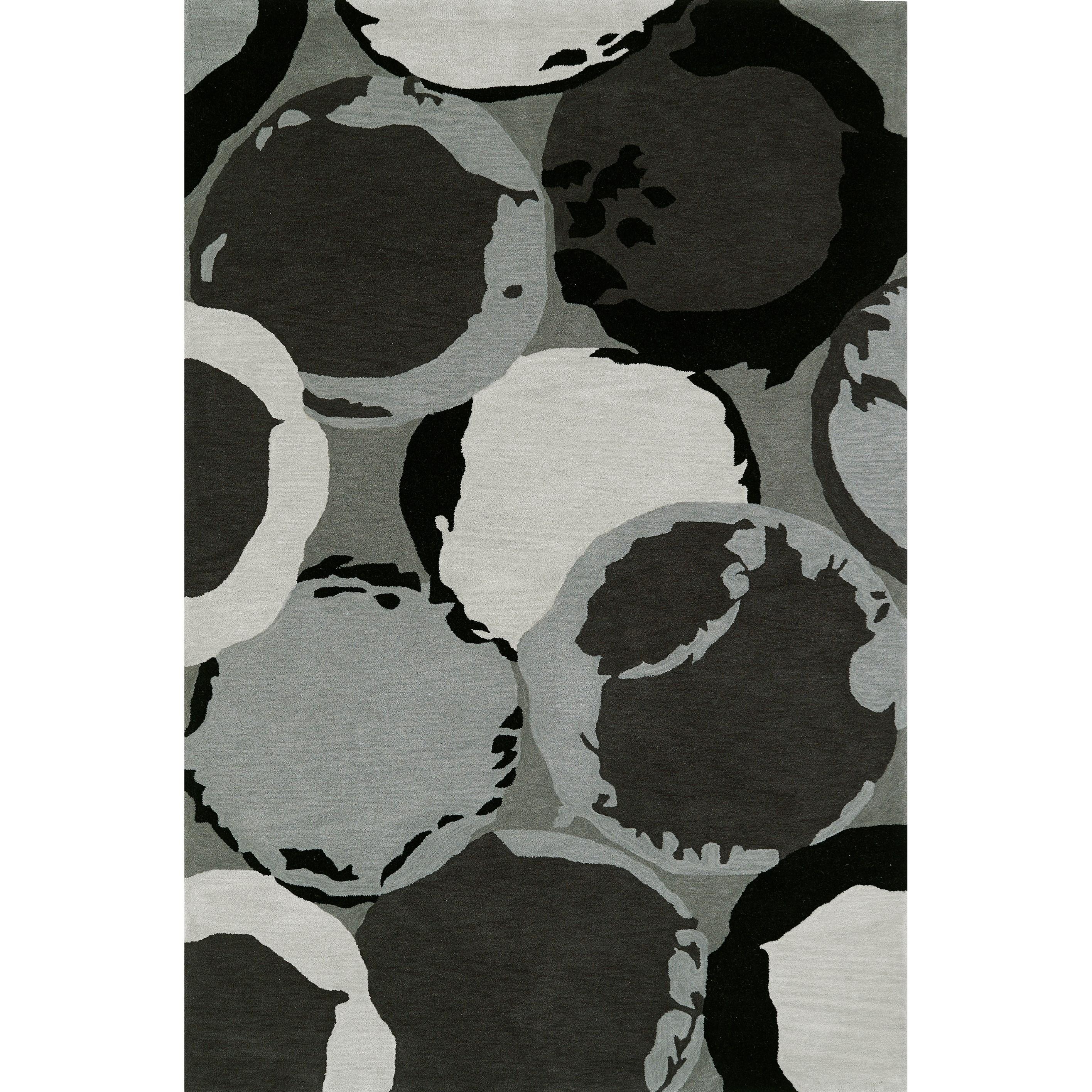 """Aloft Grey 3'6""""X5'6"""" Rug by Dalyn at Fashion Furniture"""