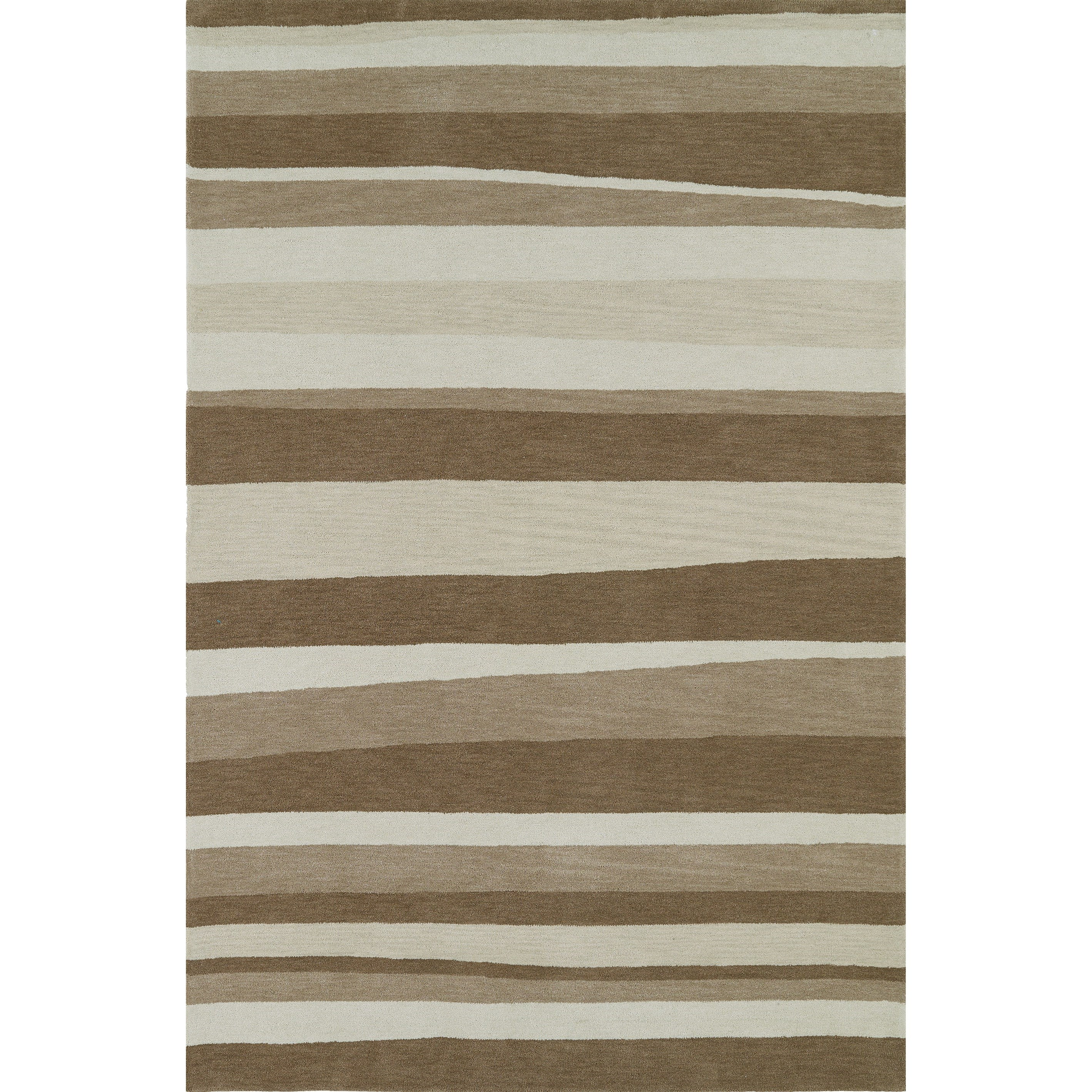 Aloft Taupe 8'X10' Rug by Dalyn at Fashion Furniture