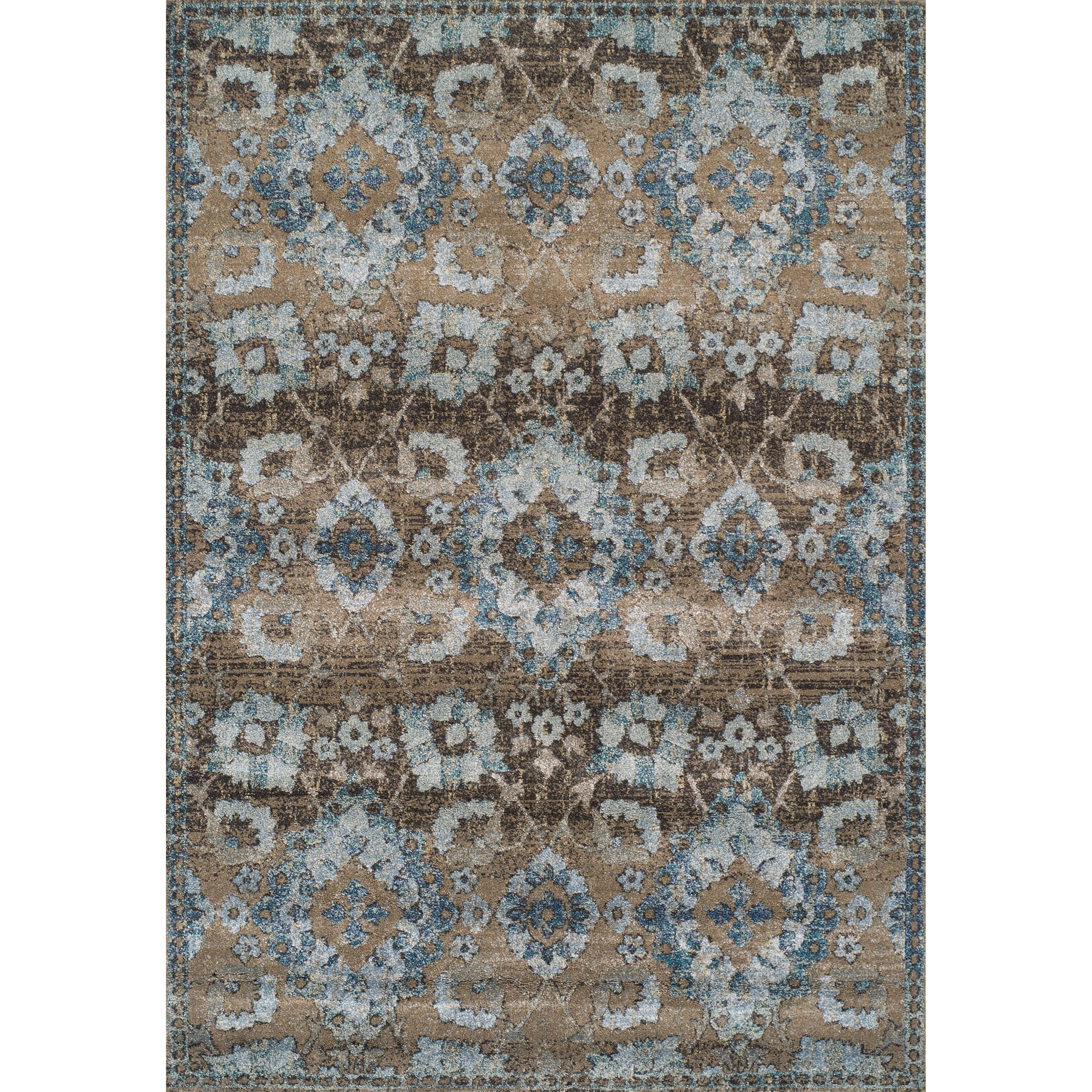 "Antigua Mocha 9'6""X13'2"" Area Rug by Dalyn at Sadler's Home Furnishings"