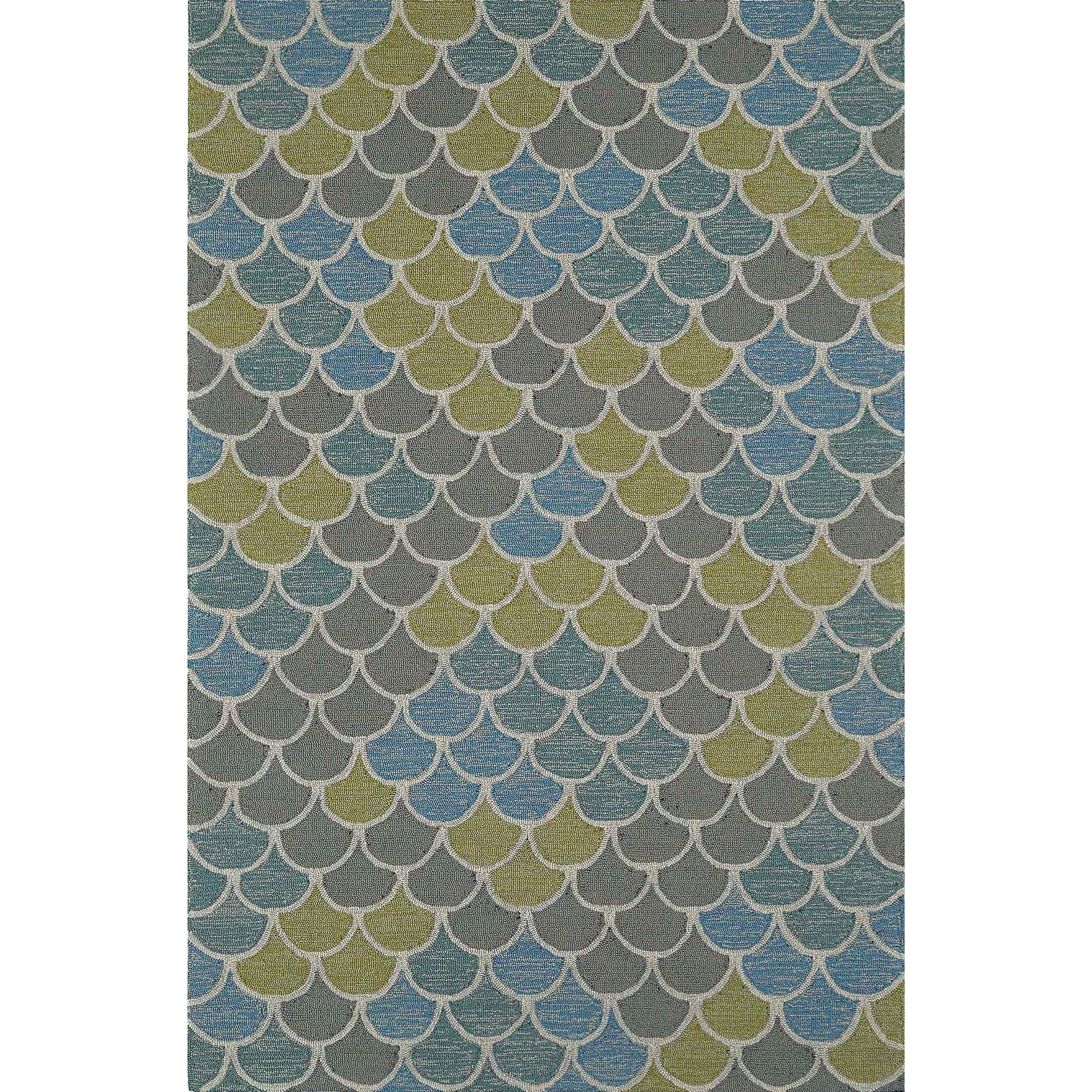 Cabana Multi 8'X10' Rug by Dalyn at Sadler's Home Furnishings