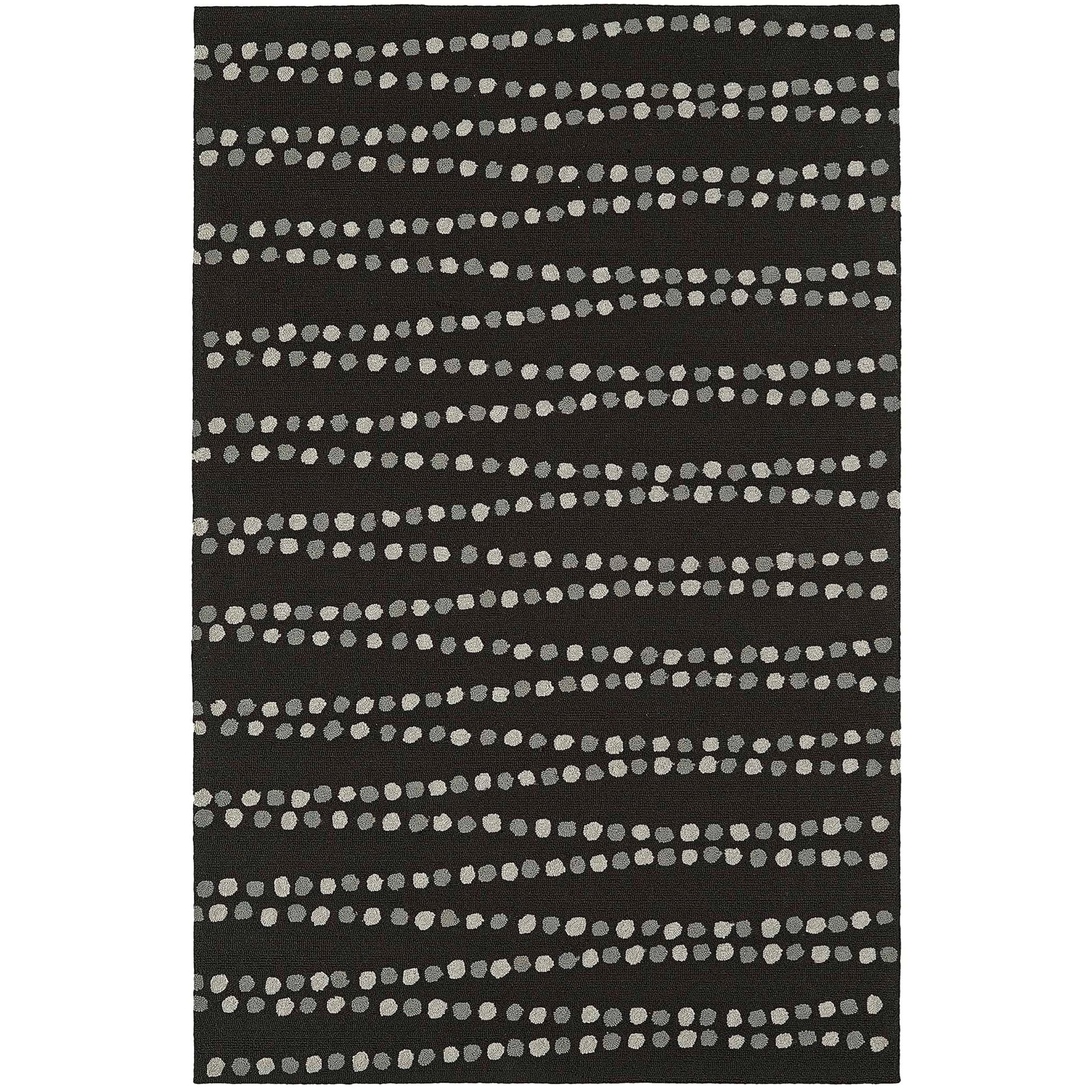 Cabana Black 8'X10' Rug by Dalyn at Fashion Furniture