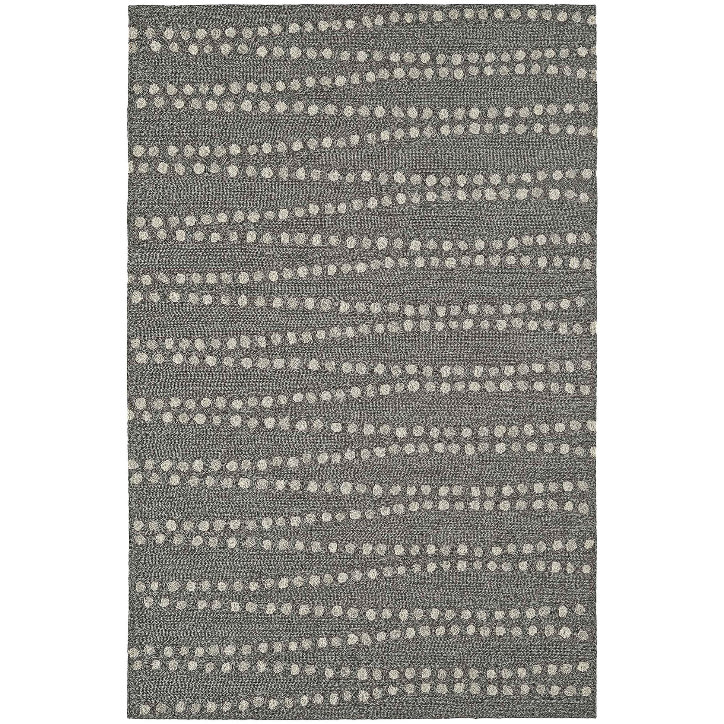 """Cabana Pewter 5'X7'6"""" Rug by Dalyn at Jacksonville Furniture Mart"""