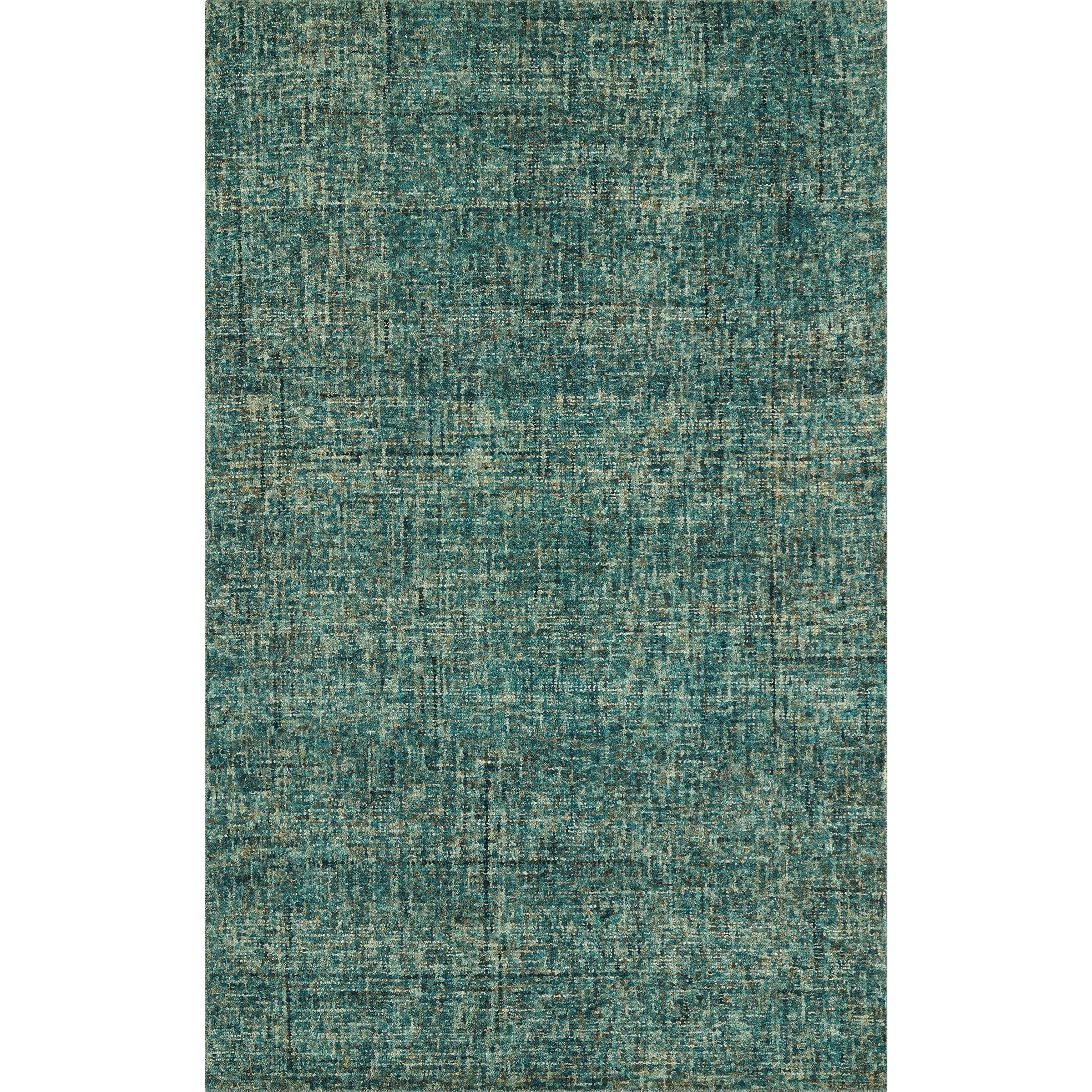 """Calisa Turquoise 5'X7'6"""" Rug by Dalyn at Fashion Furniture"""
