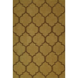"""Gold 5'X7'6"""" Area Rug"""
