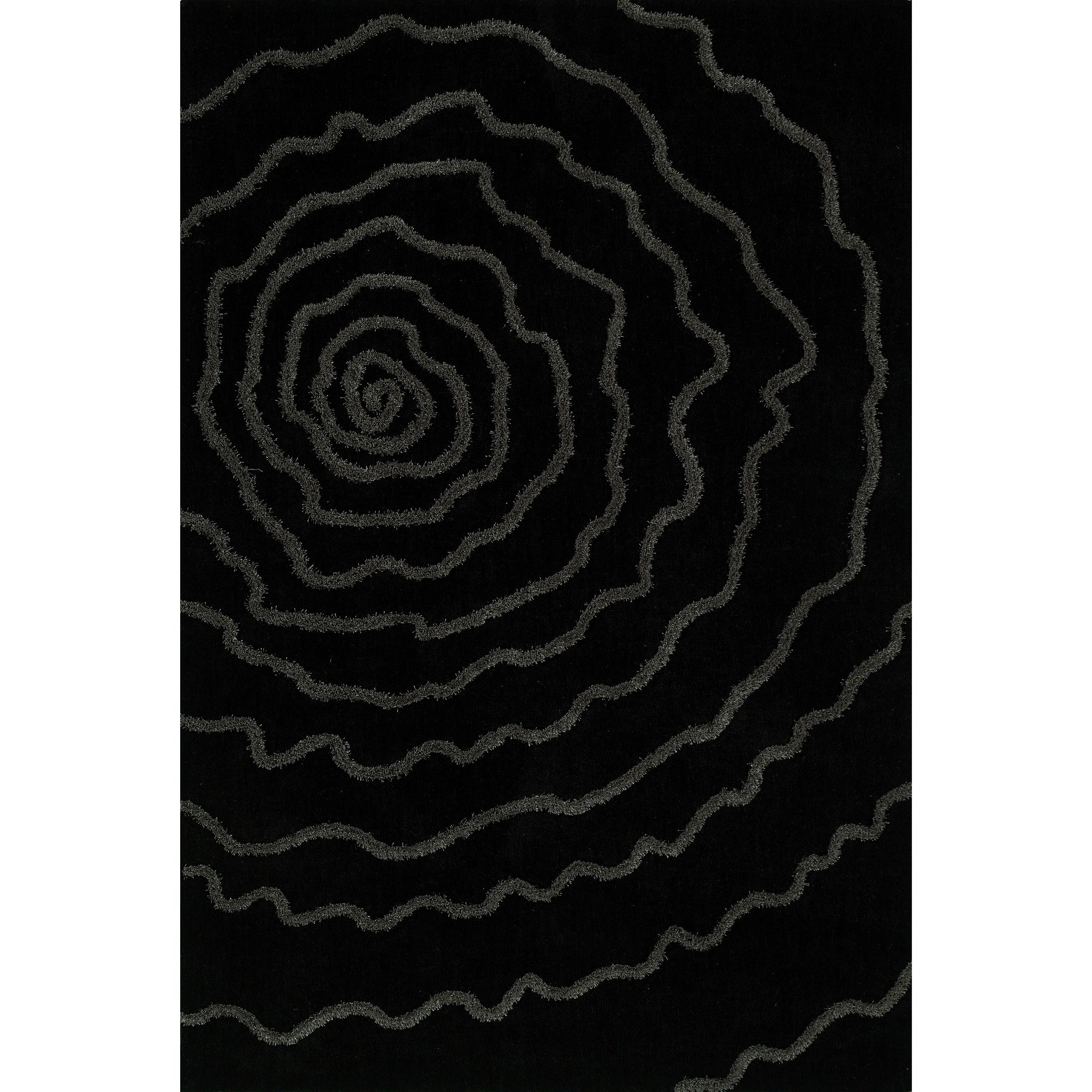 Dakota Black 8'X10' Area Rug by Dalyn at Sadler's Home Furnishings