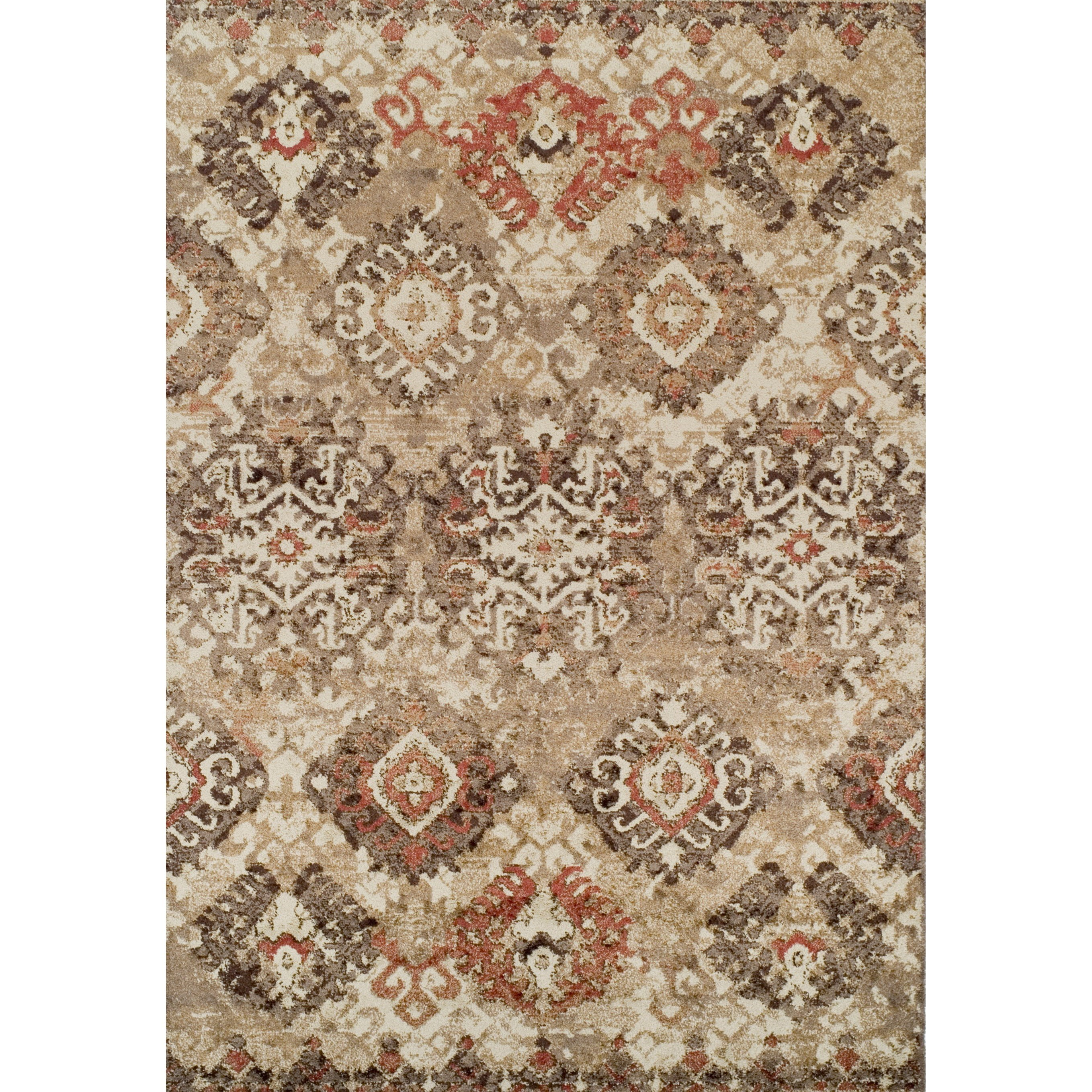 "Gala Ivory 4'11""X7' Rug by Dalyn at Sadler's Home Furnishings"