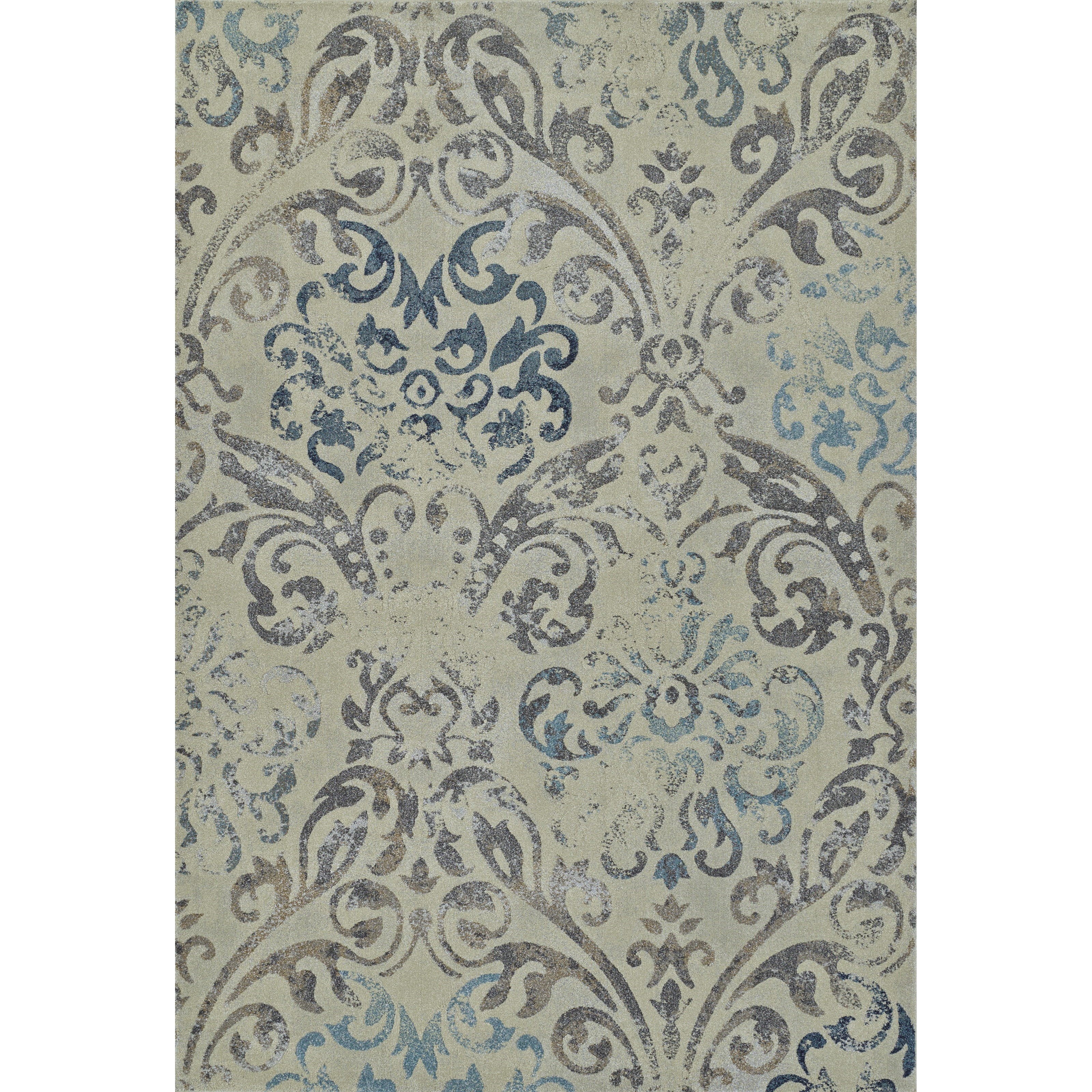 "Geneva Linen 9'6""X13'2"" Rug by Dalyn at Factory Direct Furniture"