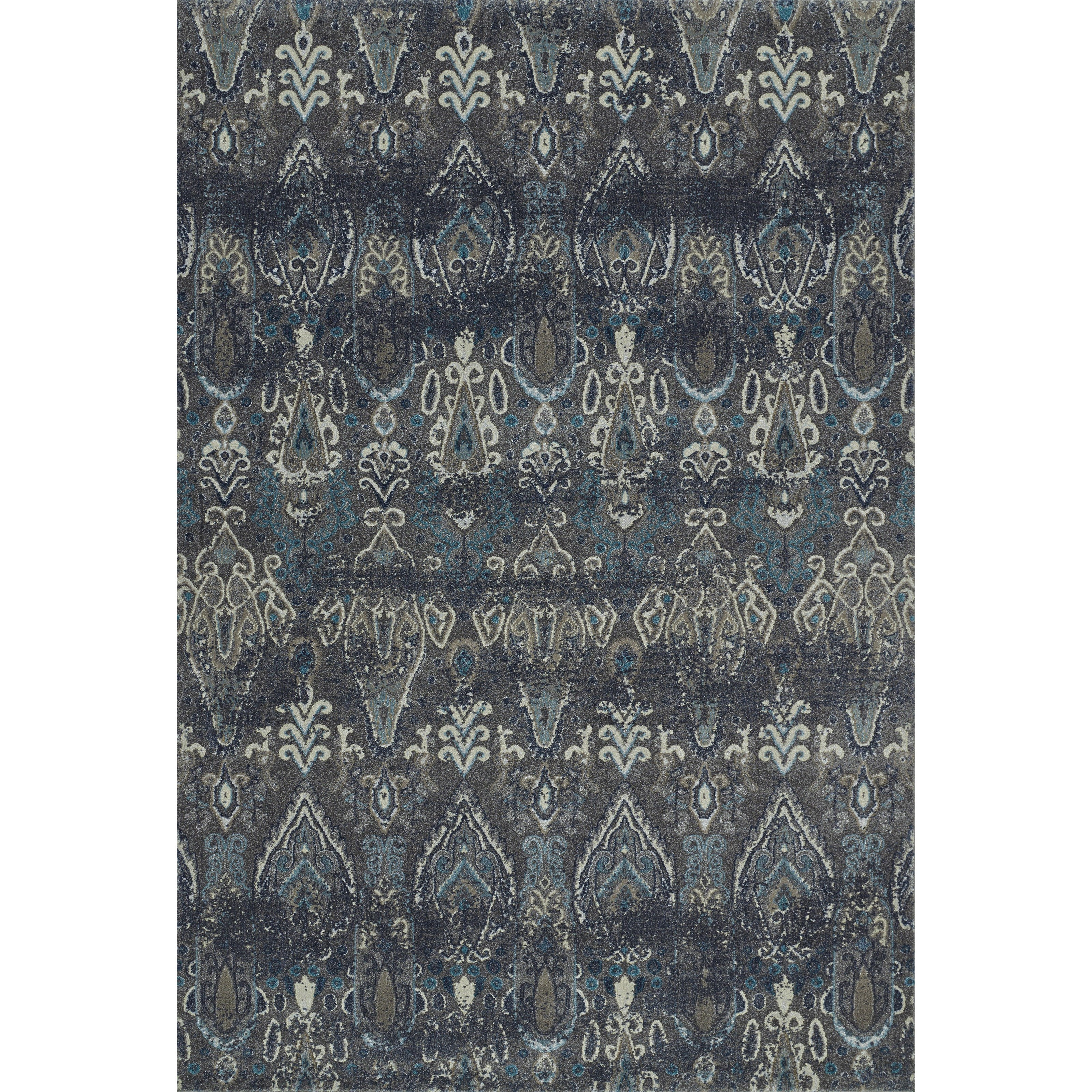 """Geneva Pewter 7'10""""X10'7"""" Rug by Dalyn at Darvin Furniture"""
