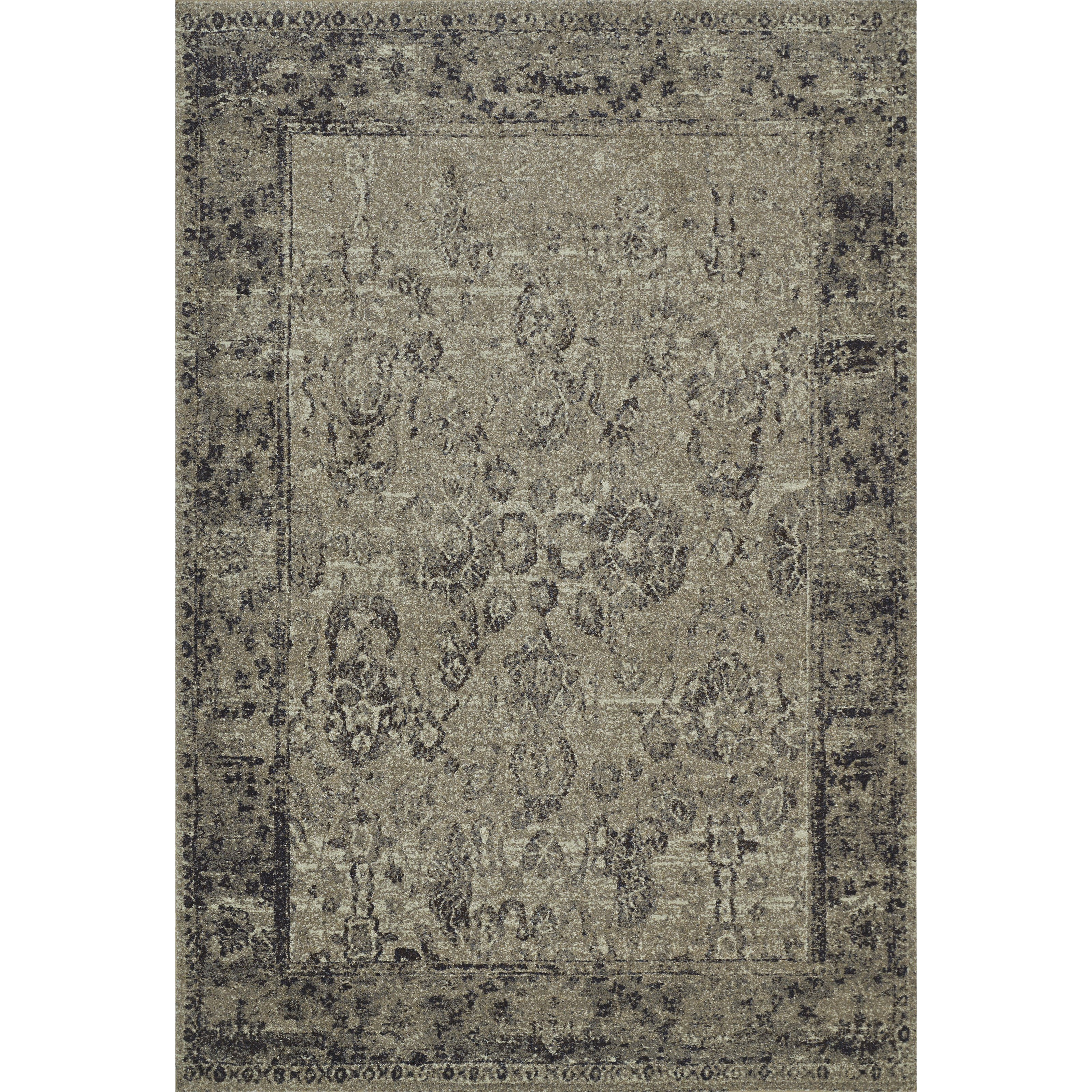 """Geneva Taupe 5'3""""X7'7"""" Rug by Dalyn at Darvin Furniture"""