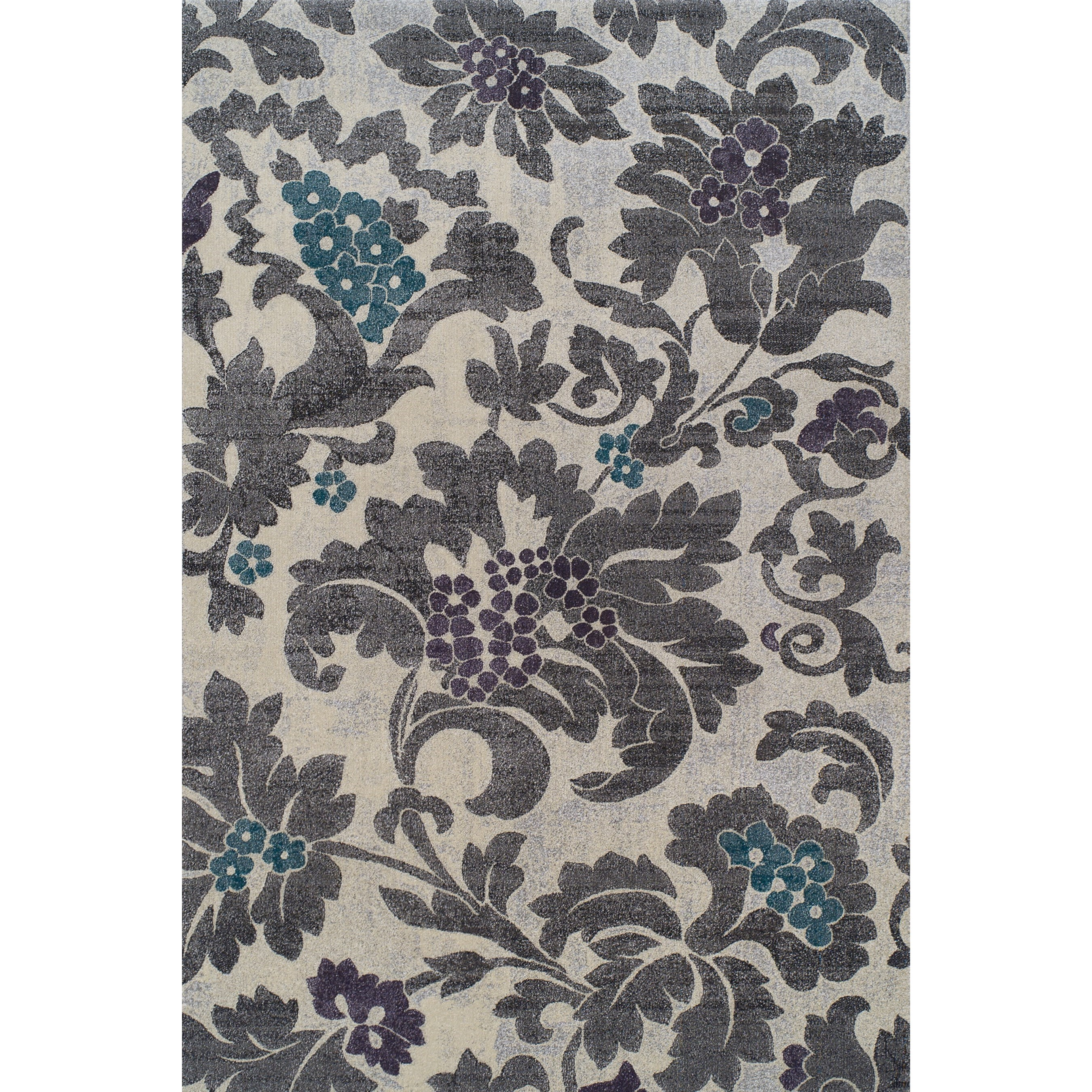 "Grand Tour Silver 9'6""X13'2"" Rug by Dalyn at Sadler's Home Furnishings"