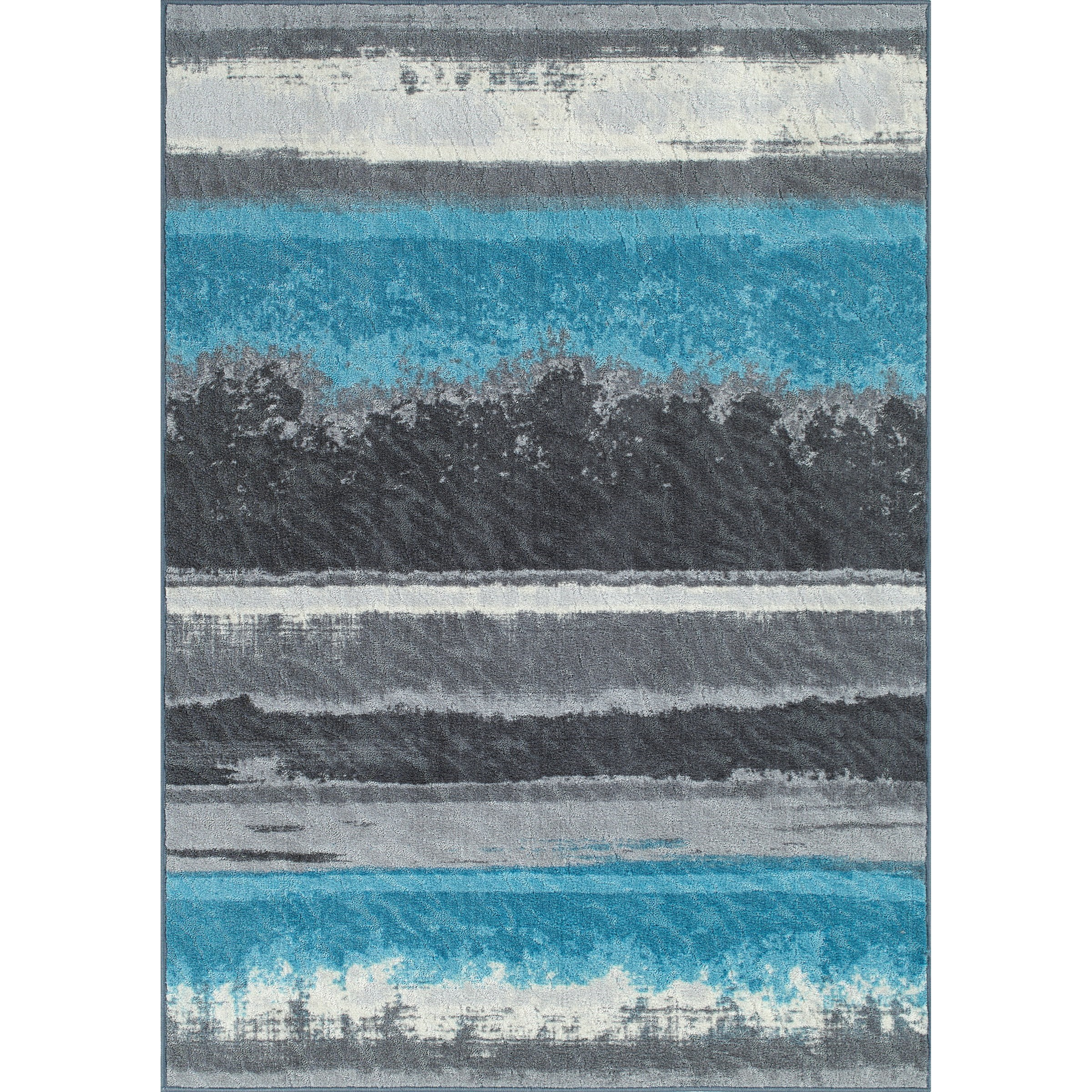 """Horizons Graphite 3'3""""X5' Area Rug by Dalyn at Arwood's Furniture"""