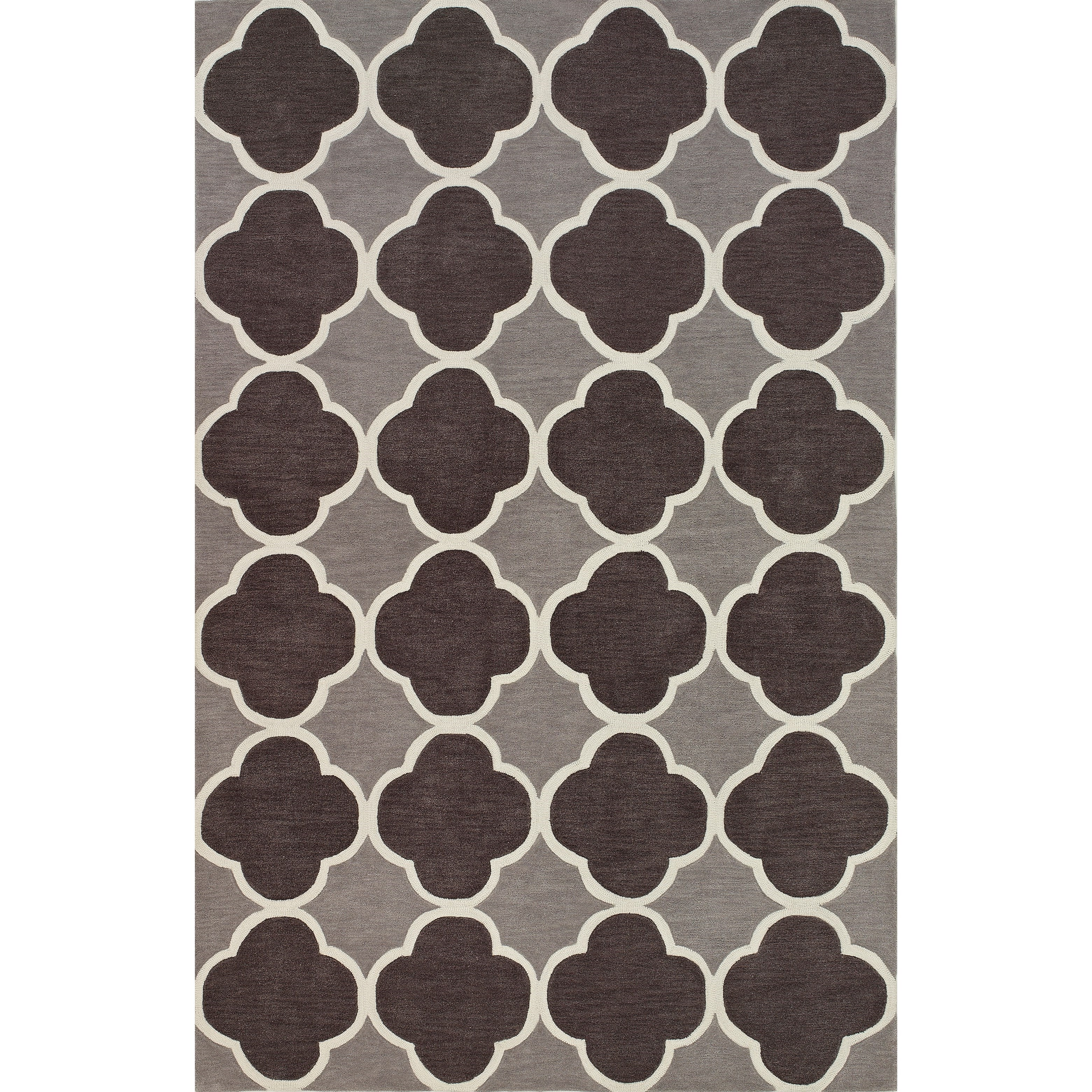 """Infinity Charcoal 3'6""""X5'6"""" Rug by Dalyn at Fashion Furniture"""