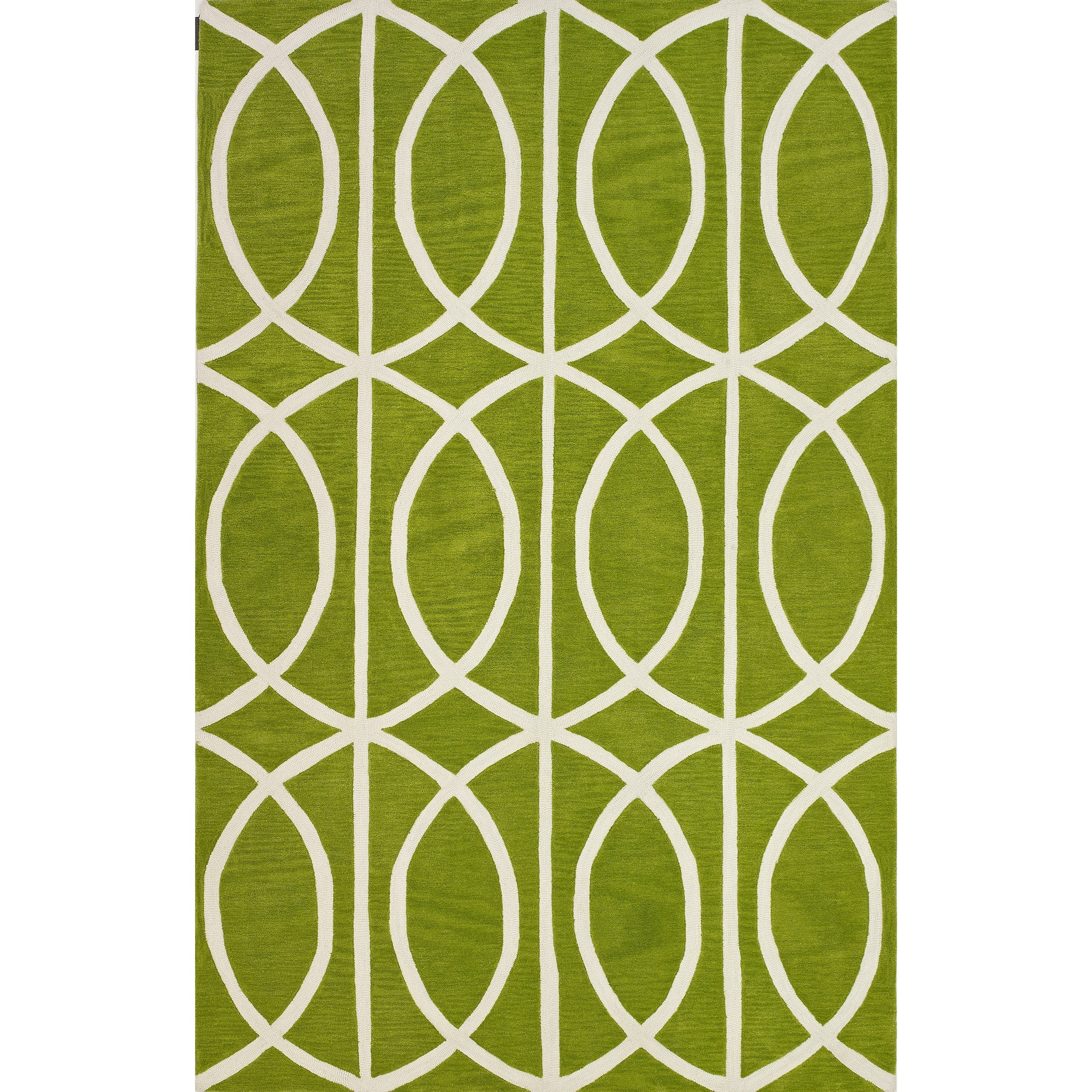 """Infinity Clover 3'6""""X5'6"""" Rug by Dalyn at Fashion Furniture"""