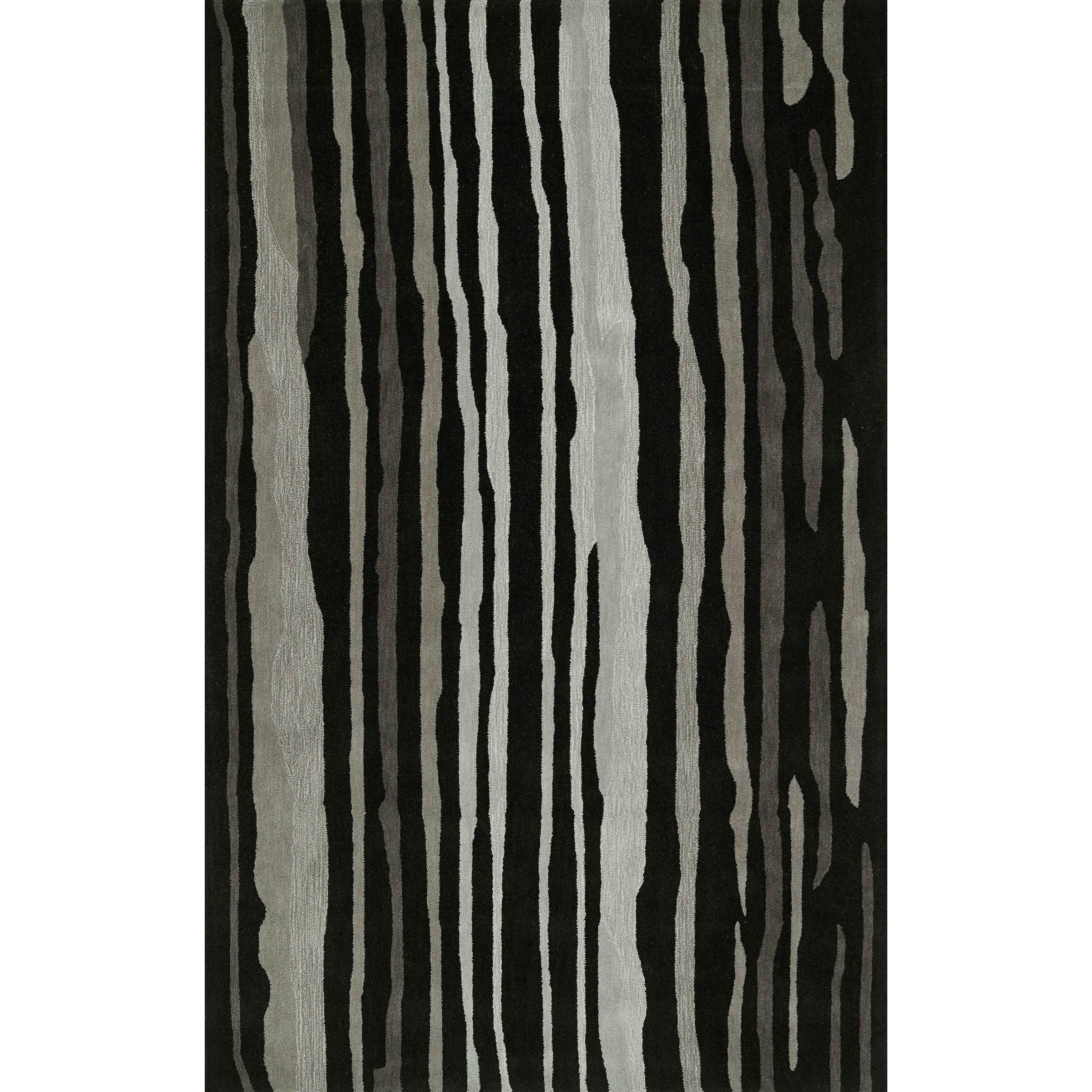 "Journey Black 5' x 7'6"" Rug by Dalyn at Sadler's Home Furnishings"