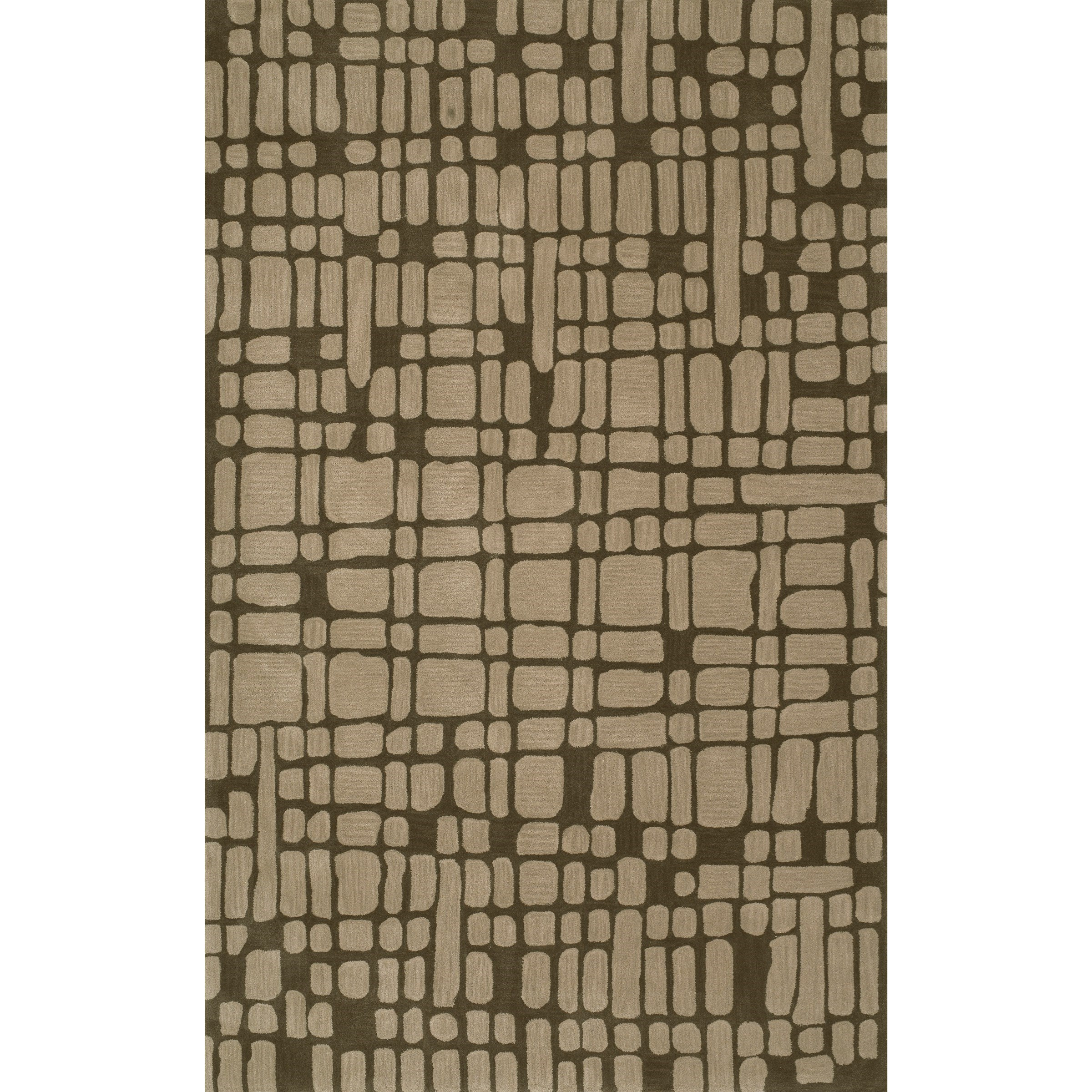Journey Chocolate 8' x 10' Rug by Dalyn at Sadler's Home Furnishings