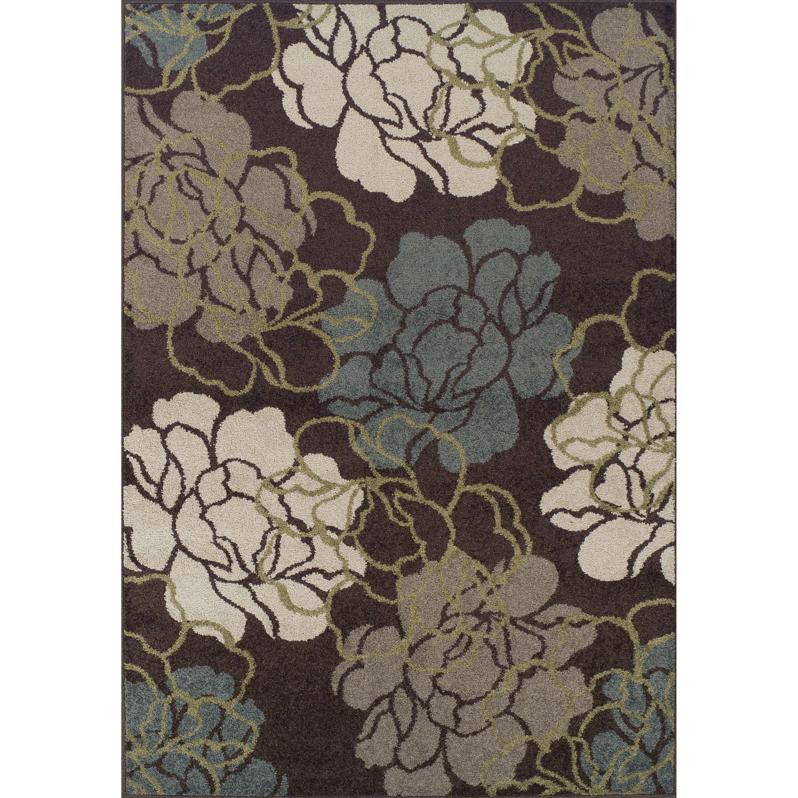 """Marcello Chocolate 3'3""""X5'1"""" Rug by Dalyn at Fashion Furniture"""