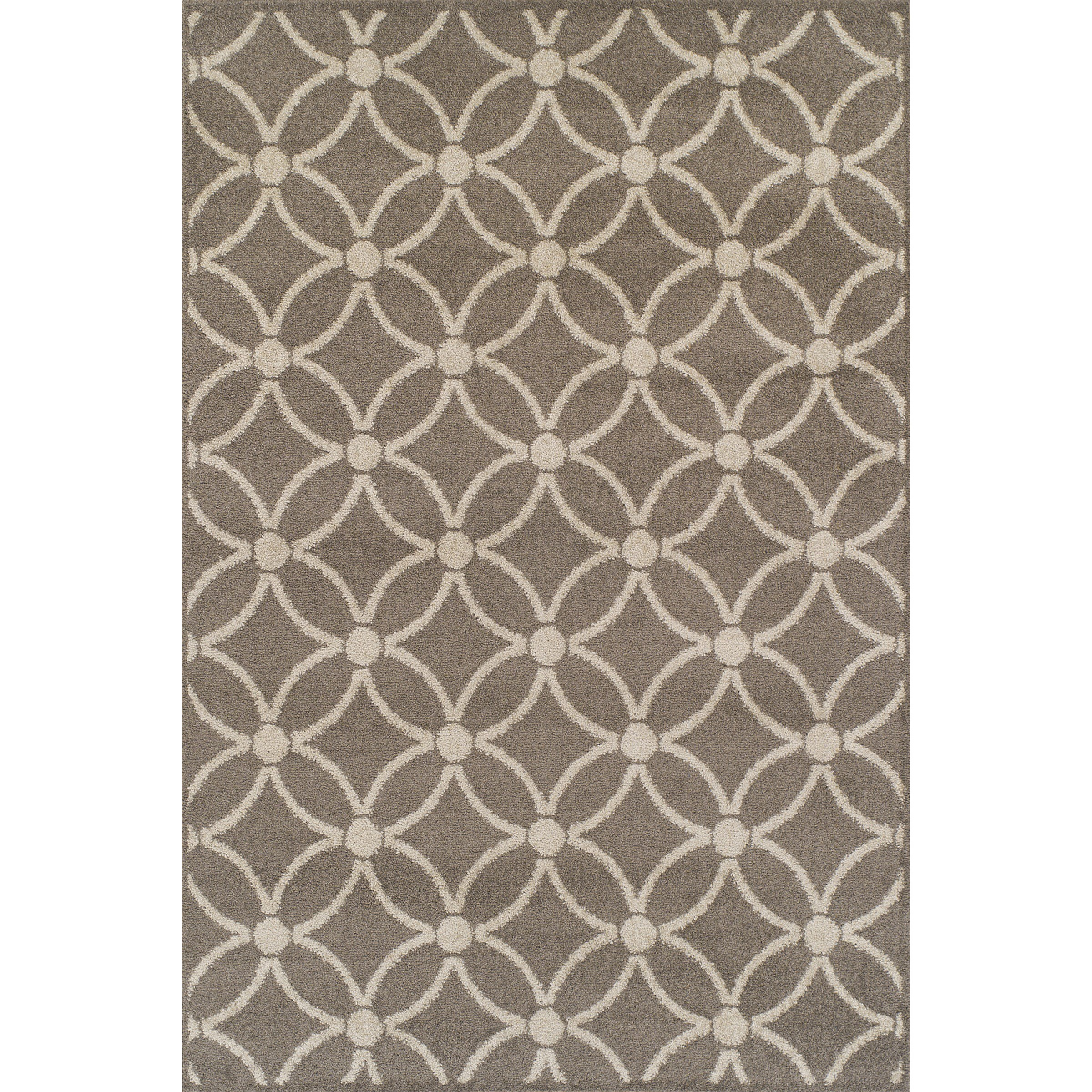 """Marcello Taupe 3'3""""X5'1"""" Rug by Dalyn at Sadler's Home Furnishings"""