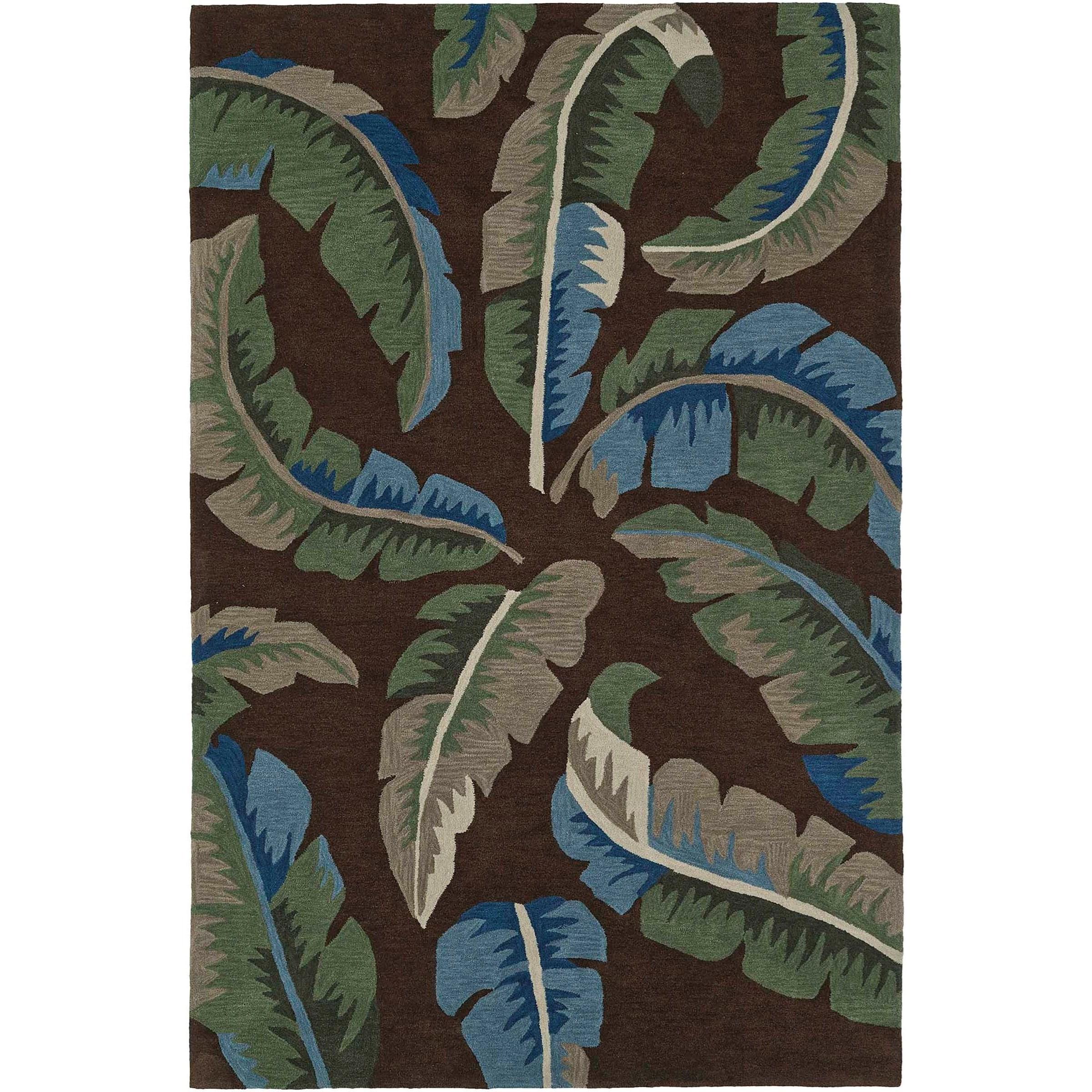 "Maui Chocolate 5'X7'6"" Rug by Dalyn at Sadler's Home Furnishings"