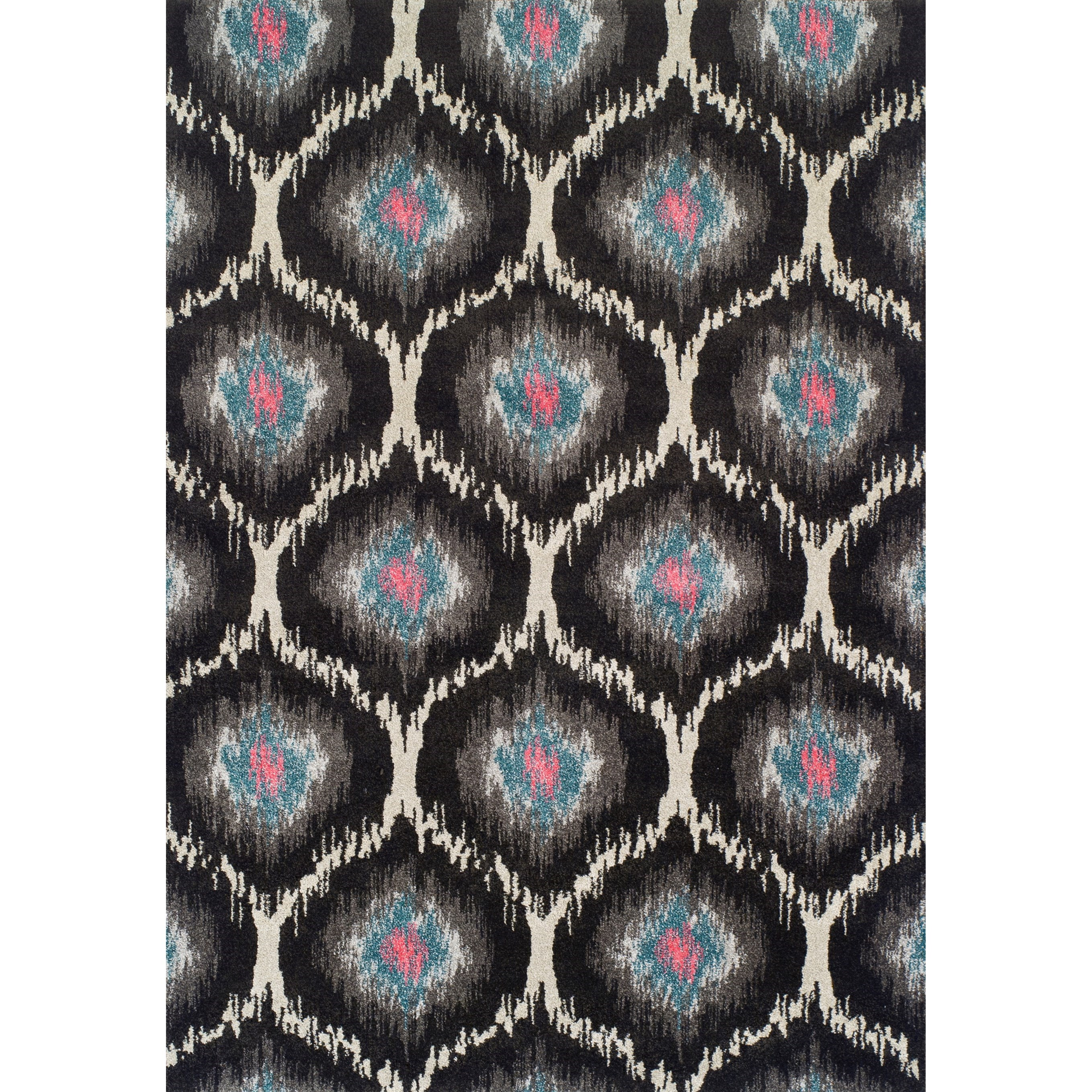 """Modern Greys Charcoal 3'3""""X5'3"""" Rug by Dalyn at Arwood's Furniture"""