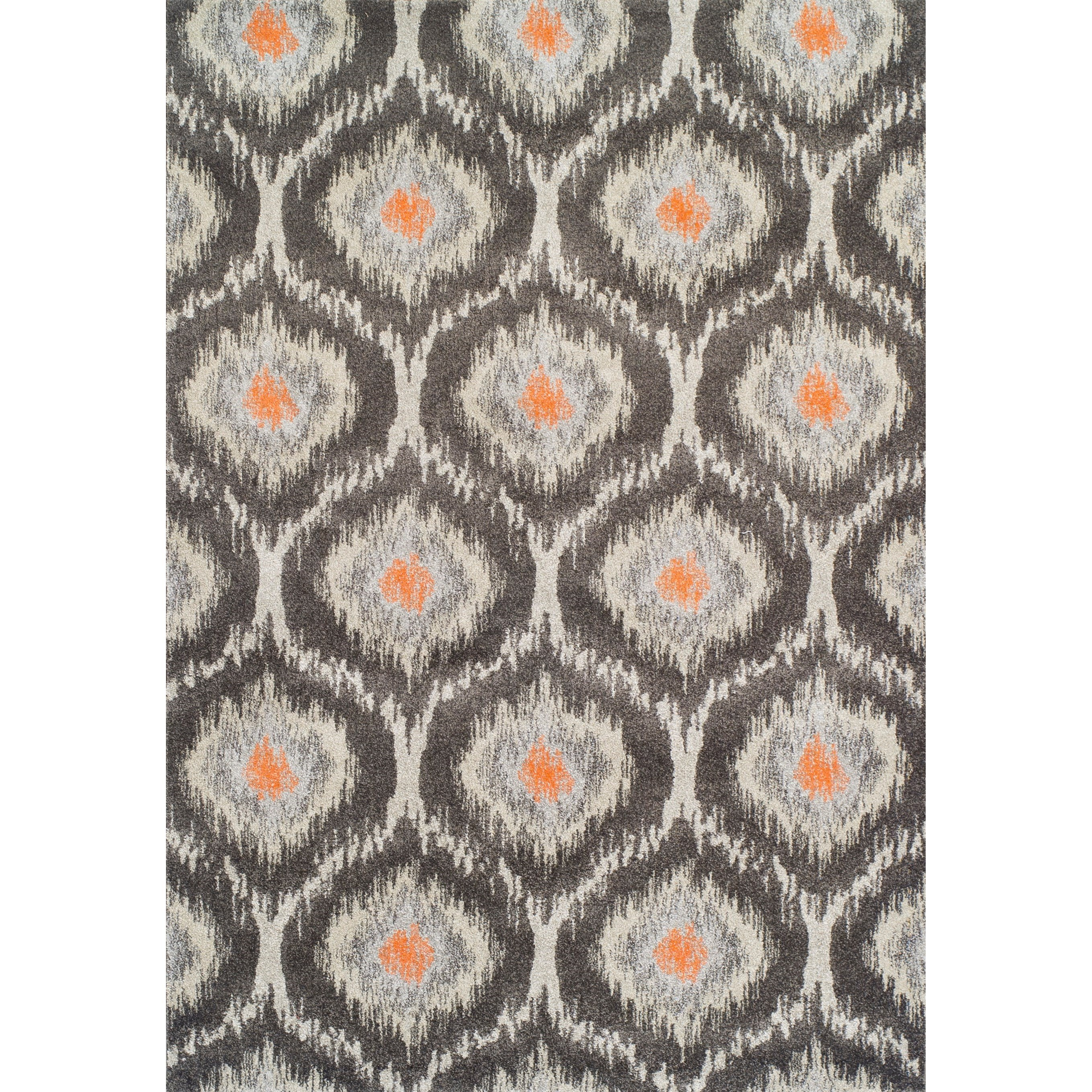 "Modern Greys Pewter 9'6""X13'2"" Rug by Dalyn at Hudson's Furniture"