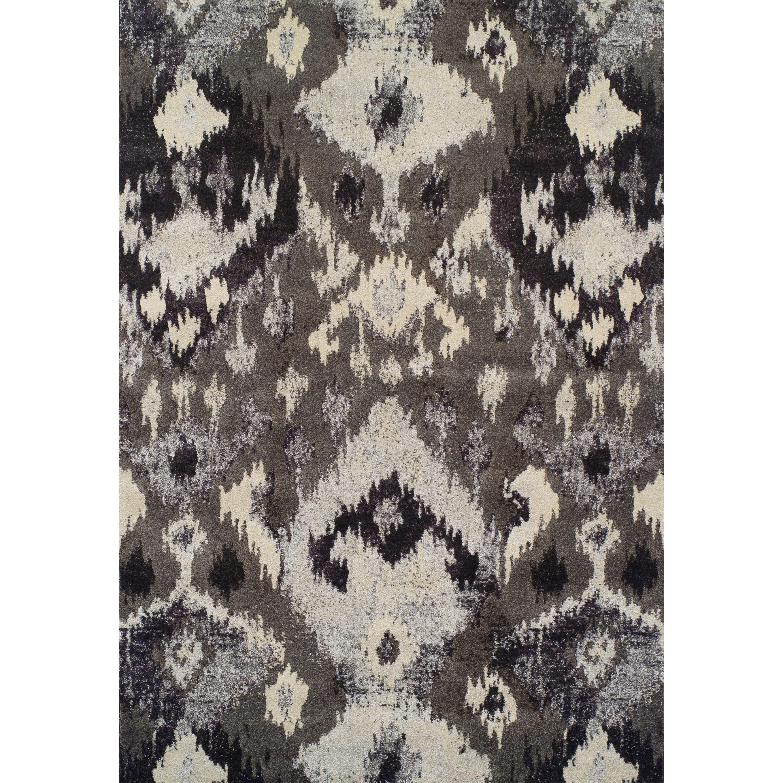 """Modern Greys Pewter 7'10""""X10'7"""" Rug by Dalyn at Fashion Furniture"""
