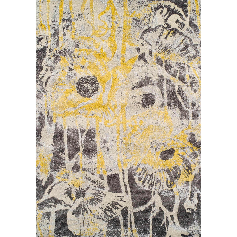 """Modern Greys Lemon 3'3""""X5'3"""" Rug by Dalyn at Fashion Furniture"""