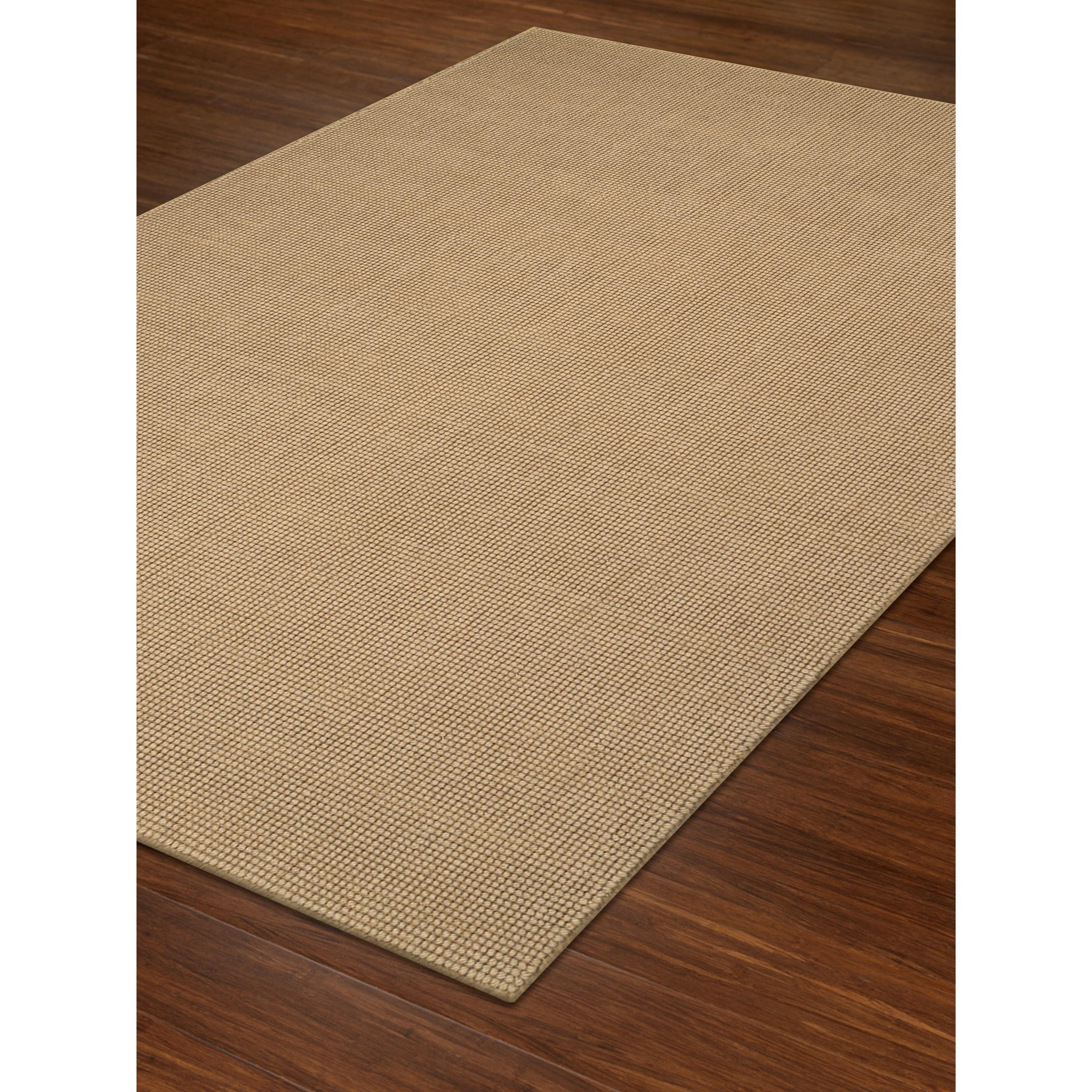 "Monaco Sisal Wheat 2'3"" x 8' Rug by Dalyn at Fashion Furniture"