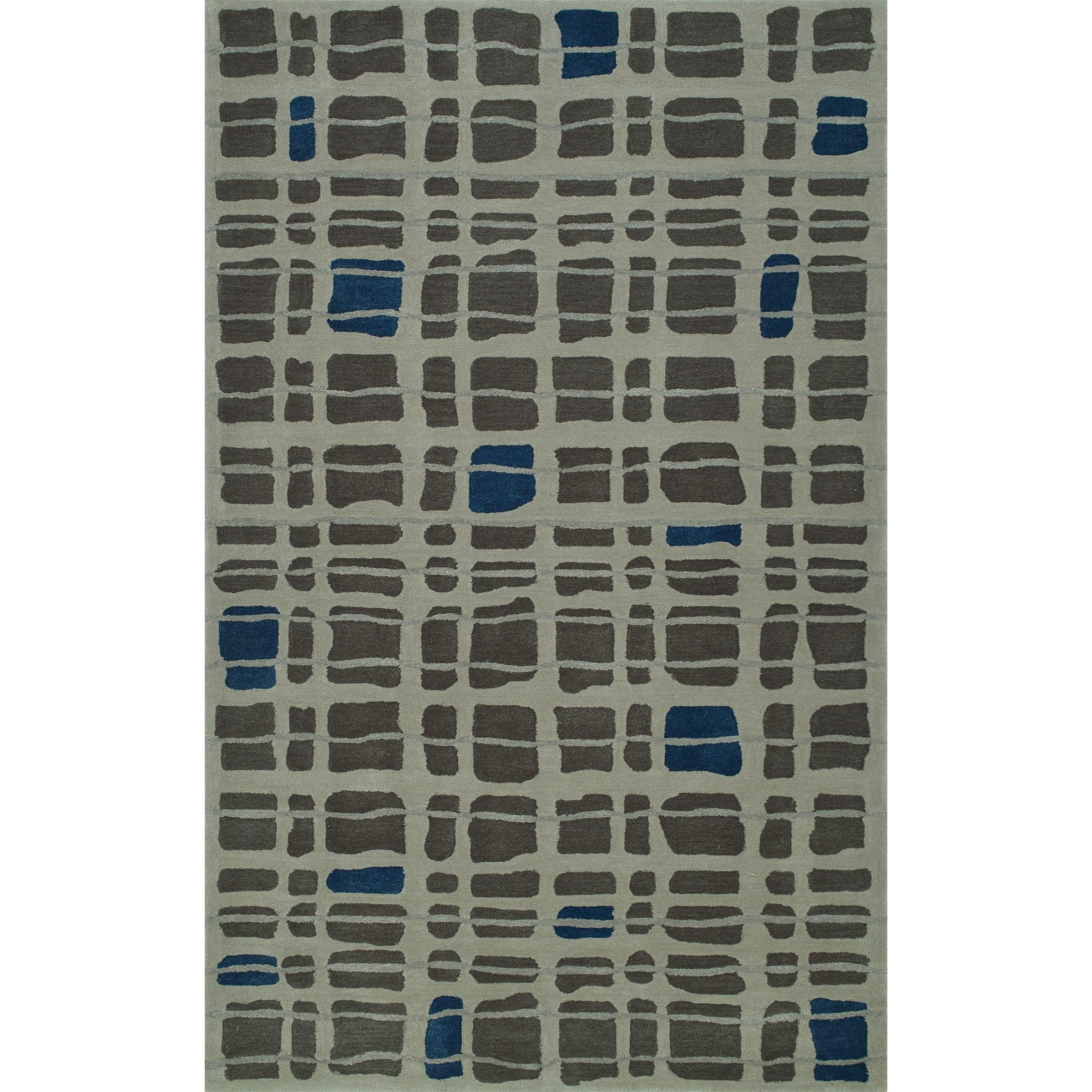 "Santino Steel 5'X7'6"" Rug by Dalyn at Fashion Furniture"
