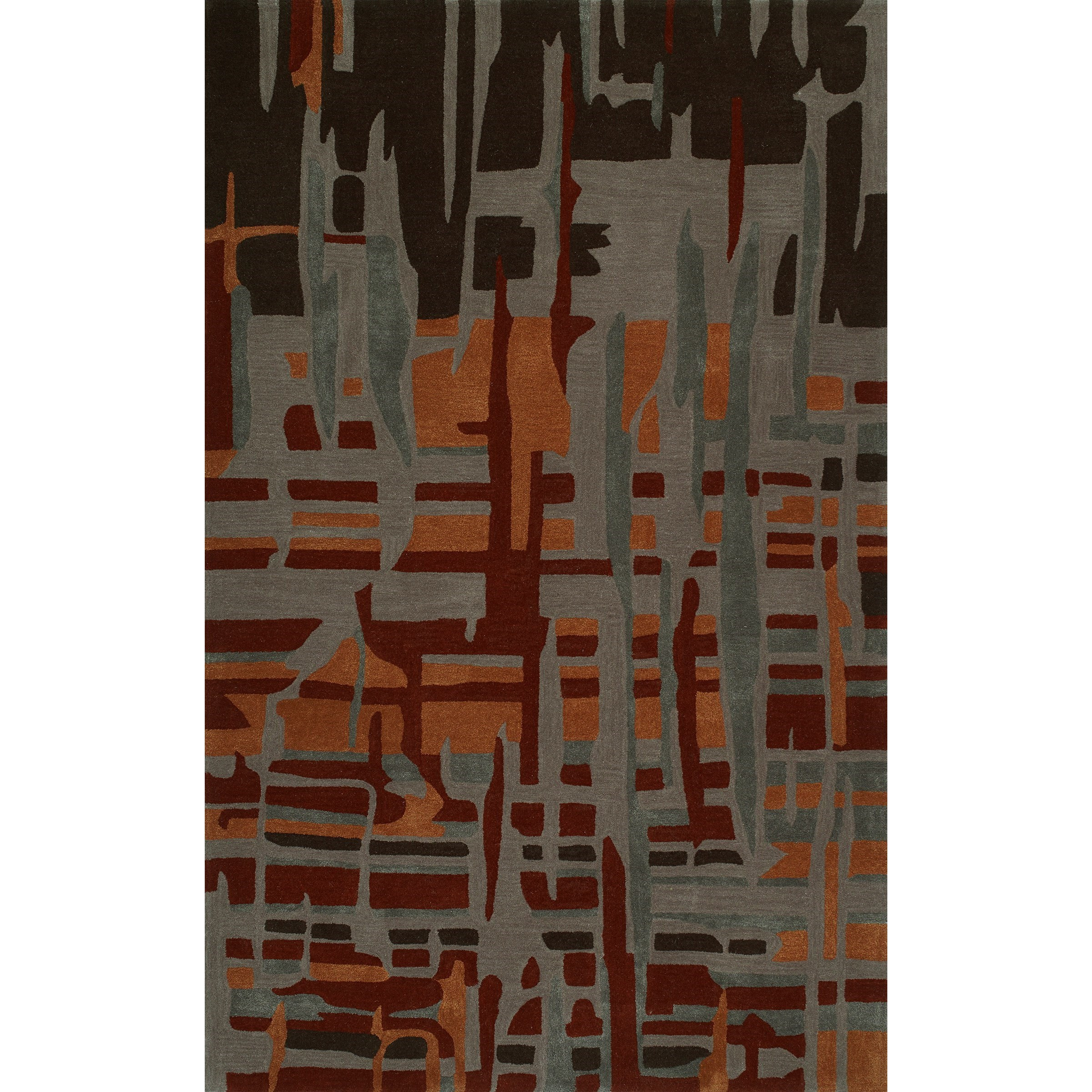 "Santino Canyon 3'6""X5'6"" Rug by Dalyn at Factory Direct Furniture"