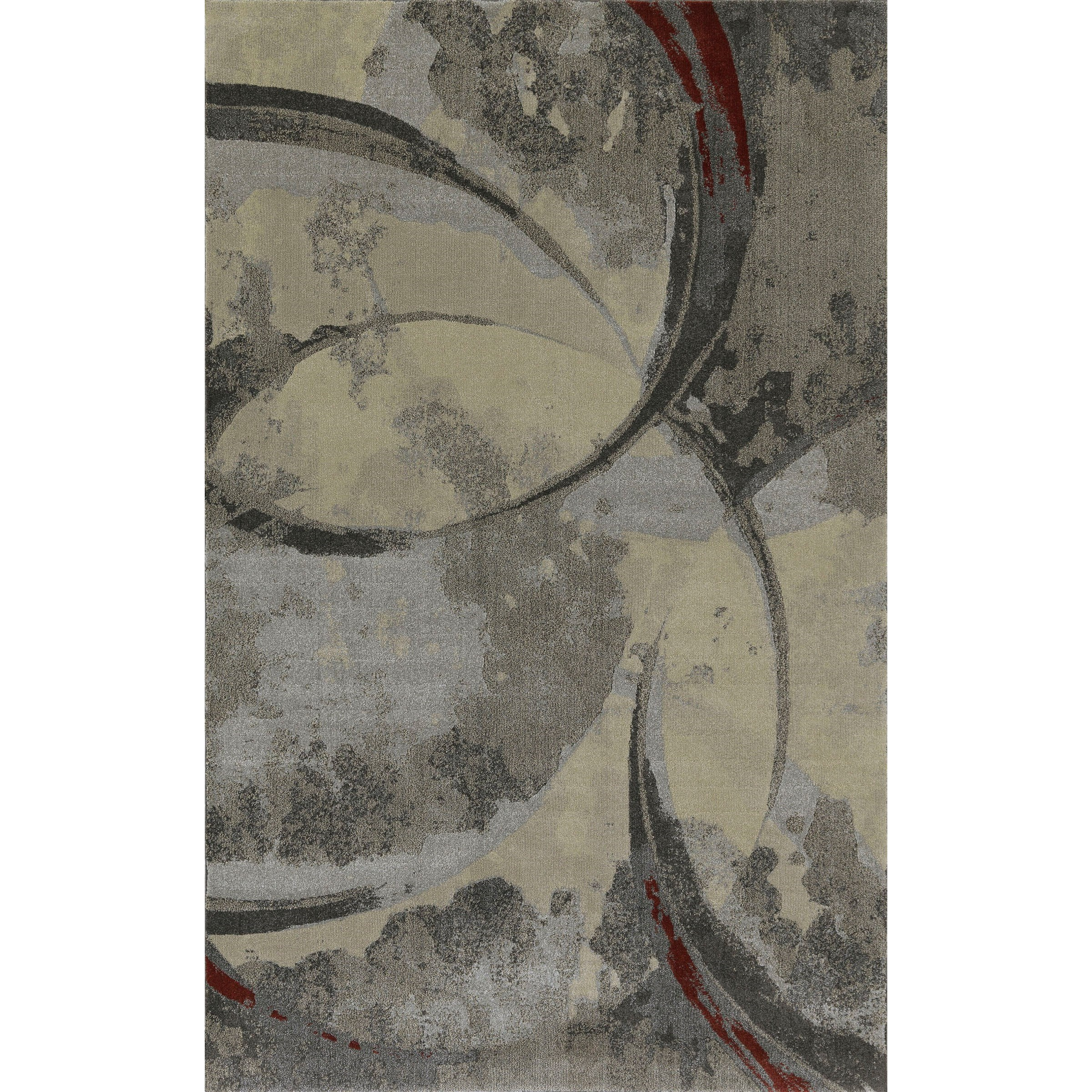 """Upton Pewter 7'10""""X10'7"""" Rug by Dalyn at Darvin Furniture"""