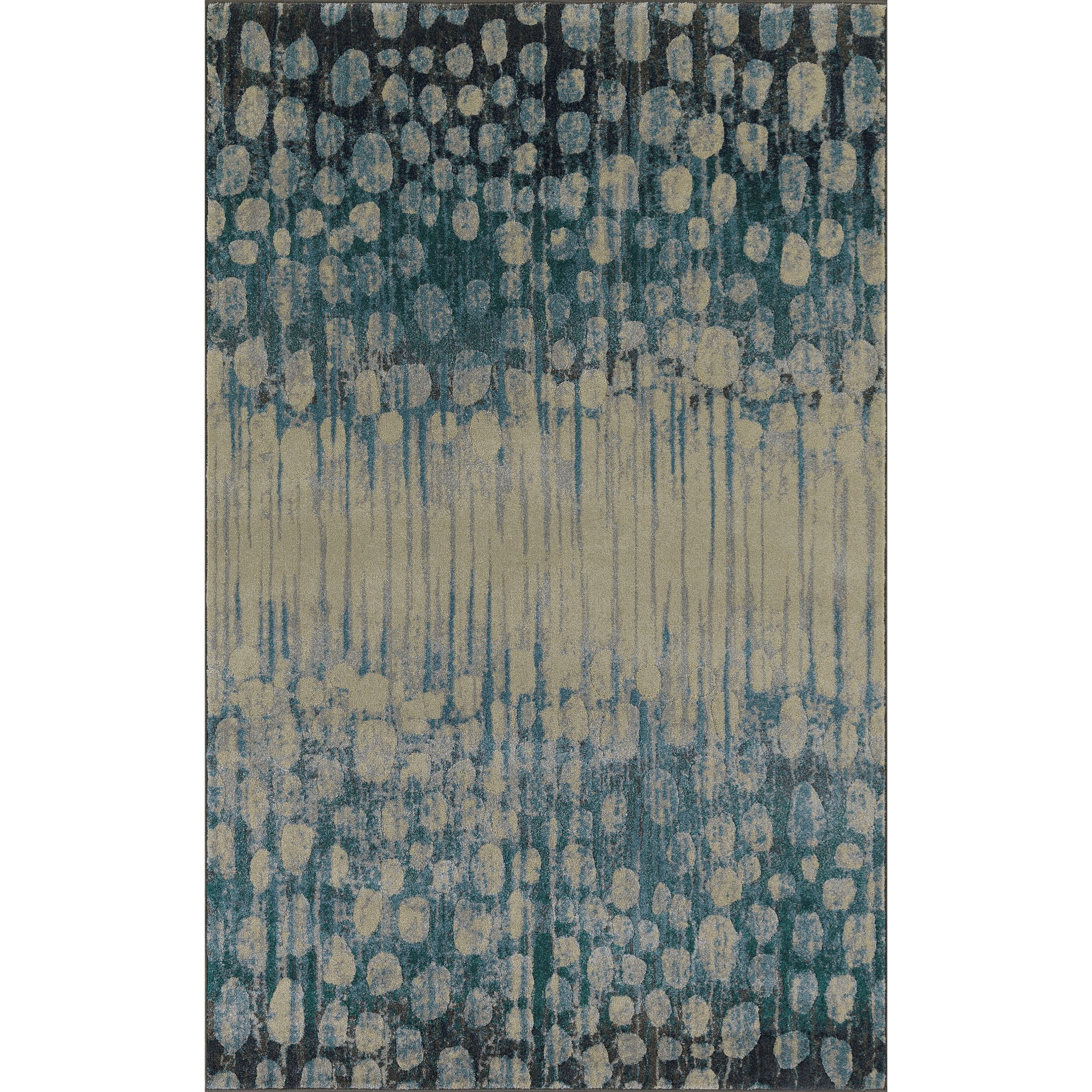 """Upton Pewter 7'10""""X10'7"""" Rug by Dalyn at Fashion Furniture"""