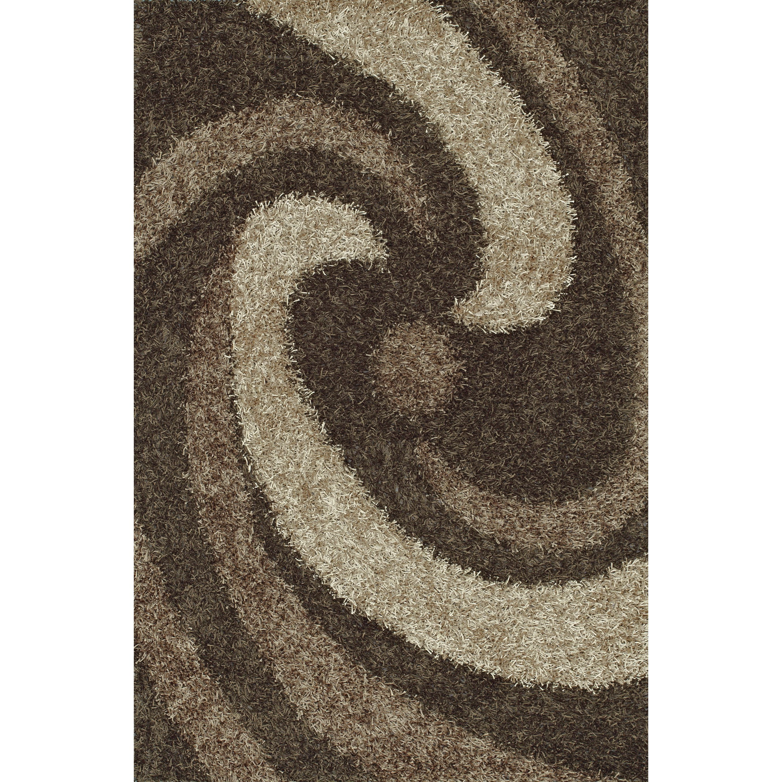 "Visions Taupe 3'6""X5'6"" Rug by Dalyn at Dean Bosler's"